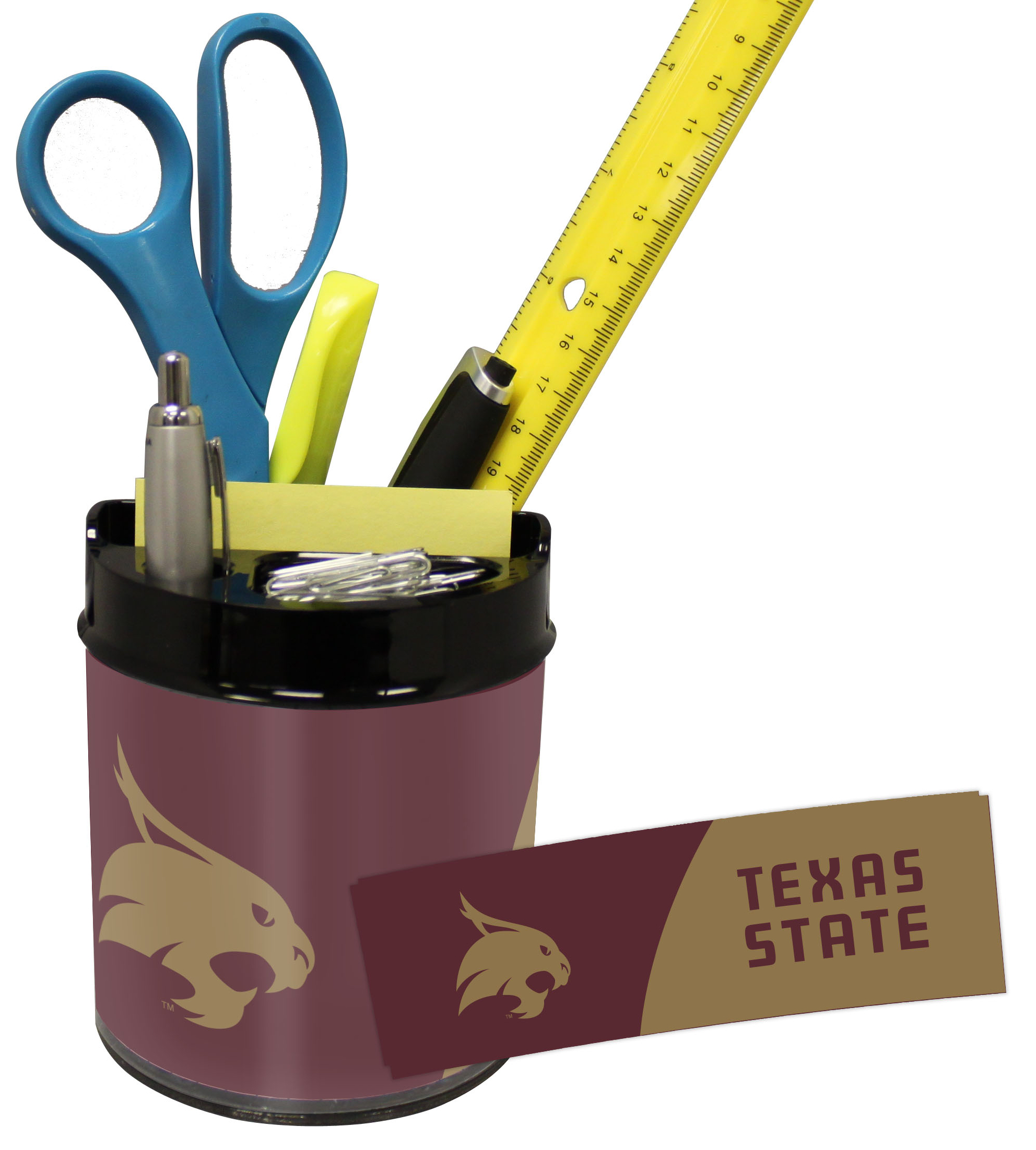 Texas State Bobcats Small Desk Caddy