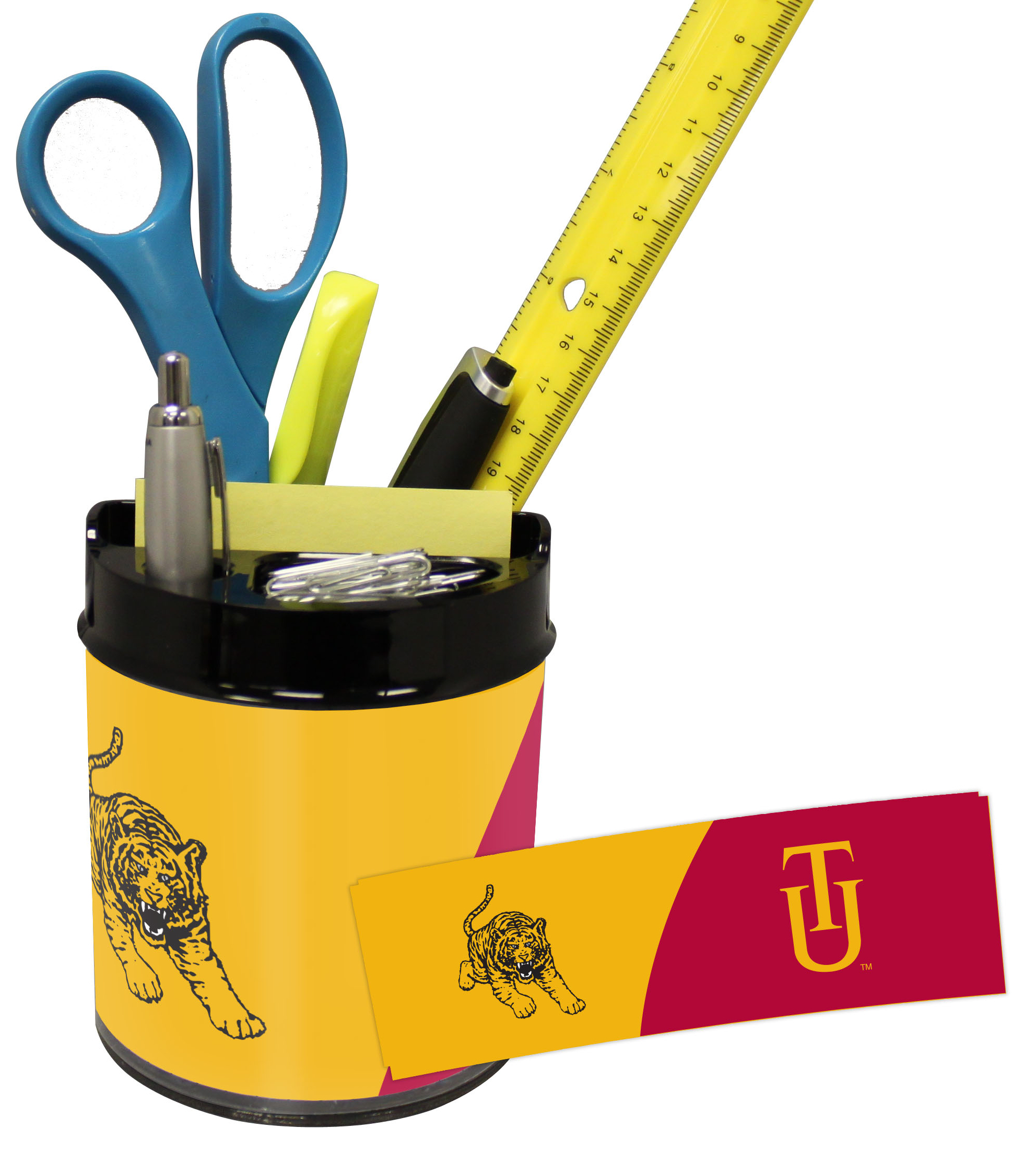 Tuskegee Golden Tigers Small Desk Caddy