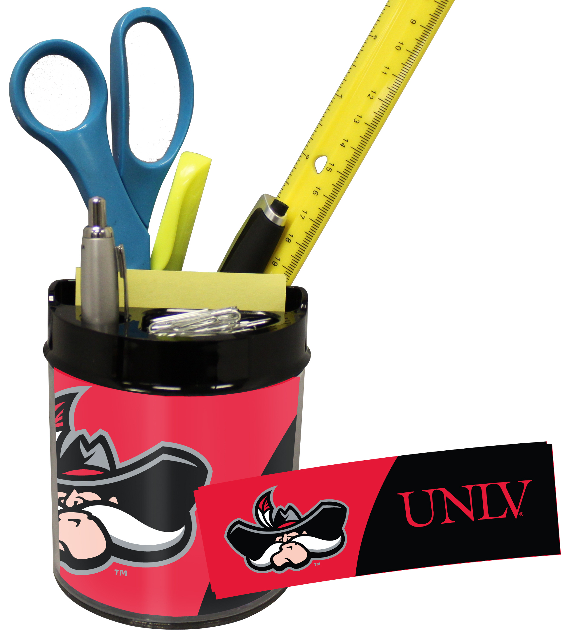 UNLV Runnin Rebels Small Desk Caddy