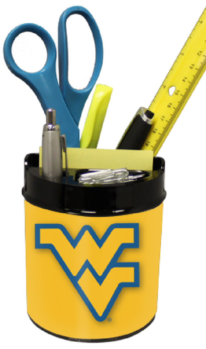 West Virginia Mountaineers Small Desk Caddy