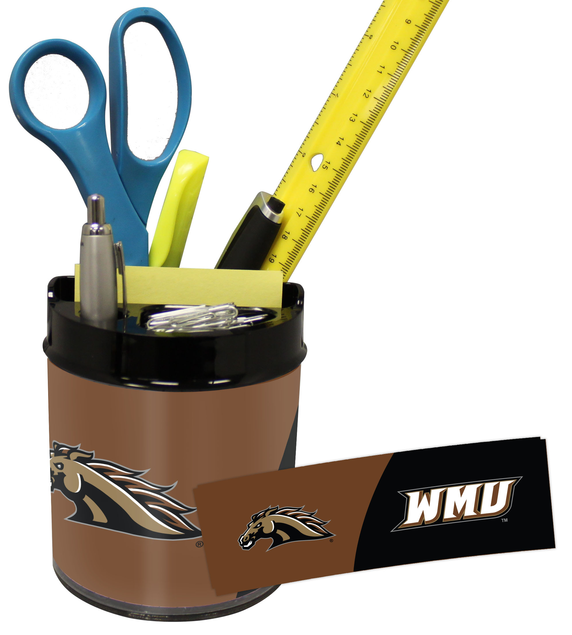 Western Michigan Broncos Small Desk Caddy
