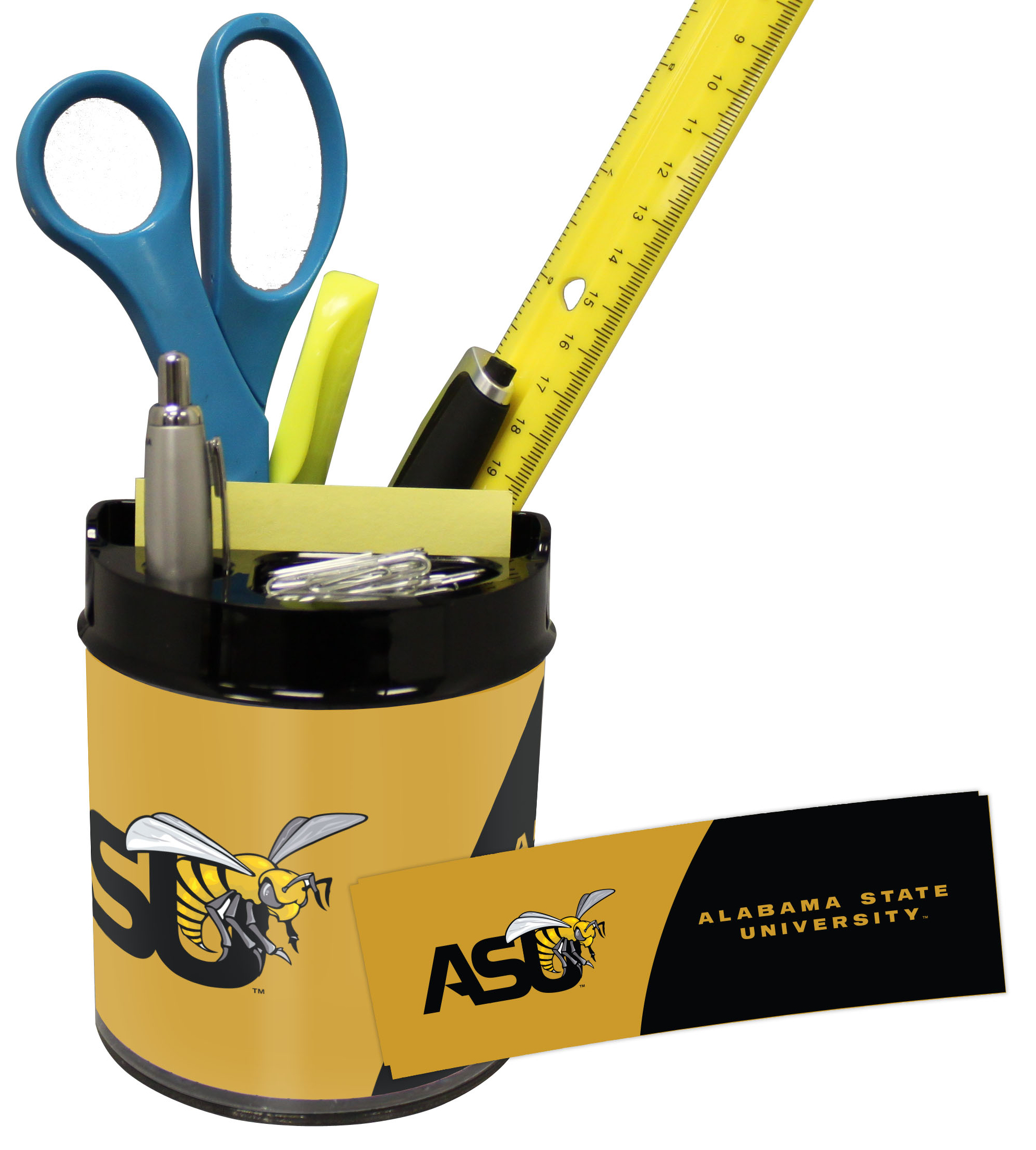 Alabama State Hornets Small Desk Caddy