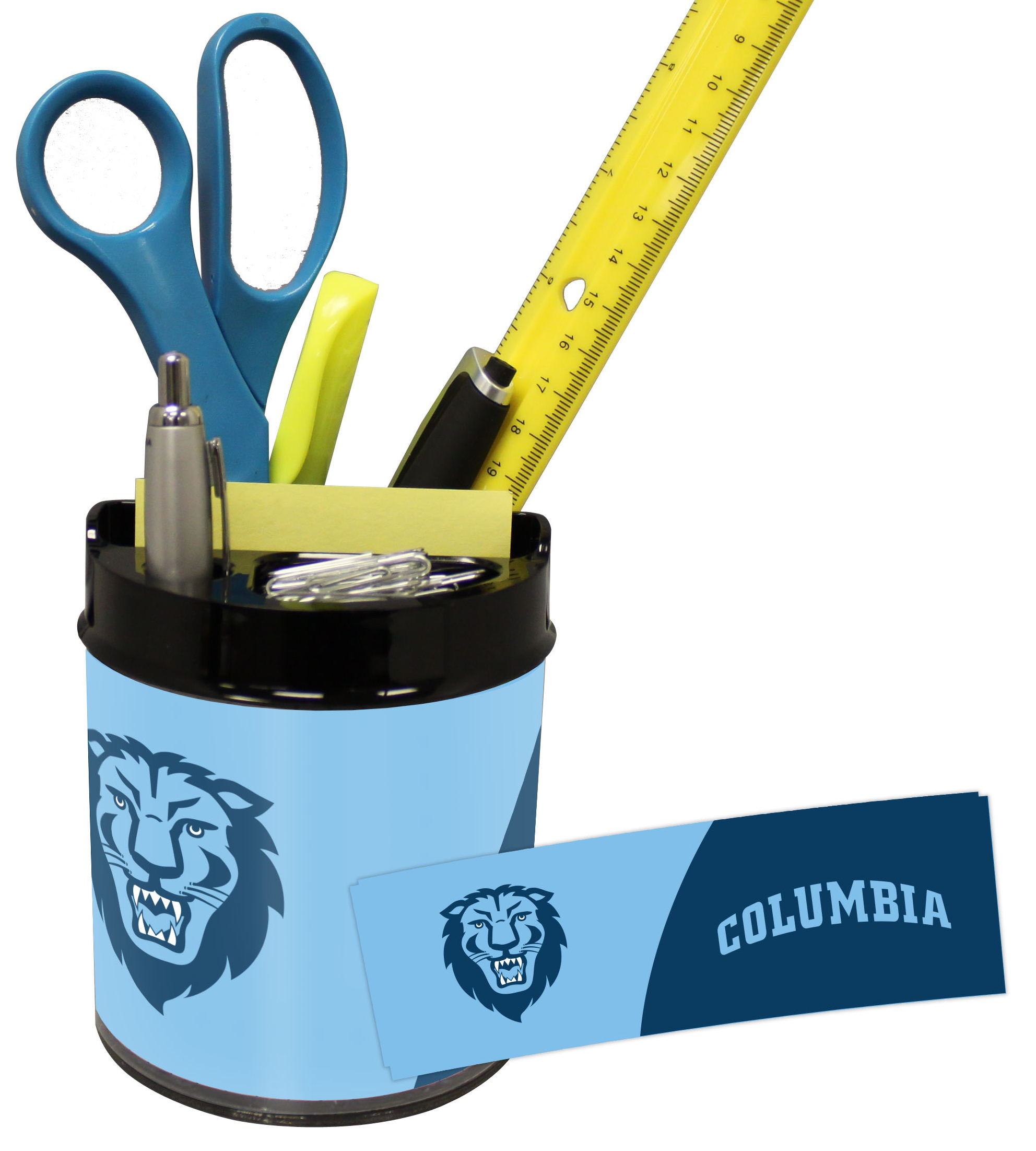 Columbia Lions Small Desk Caddy