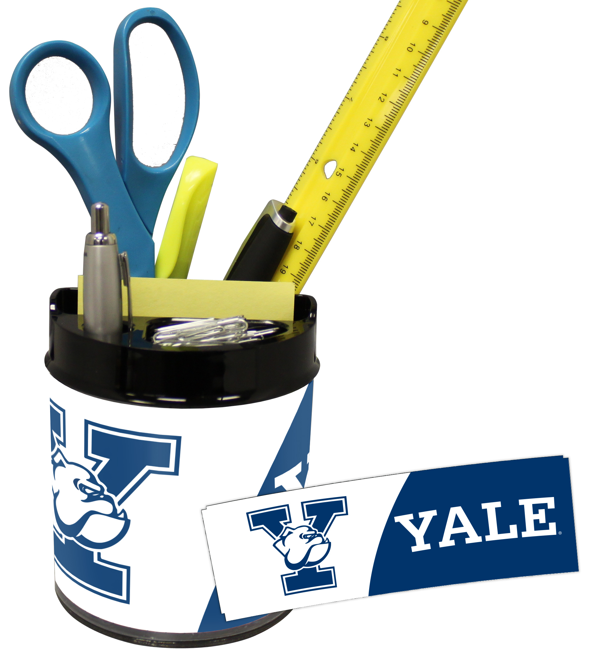 Yale Bulldogs Small Desk Caddy