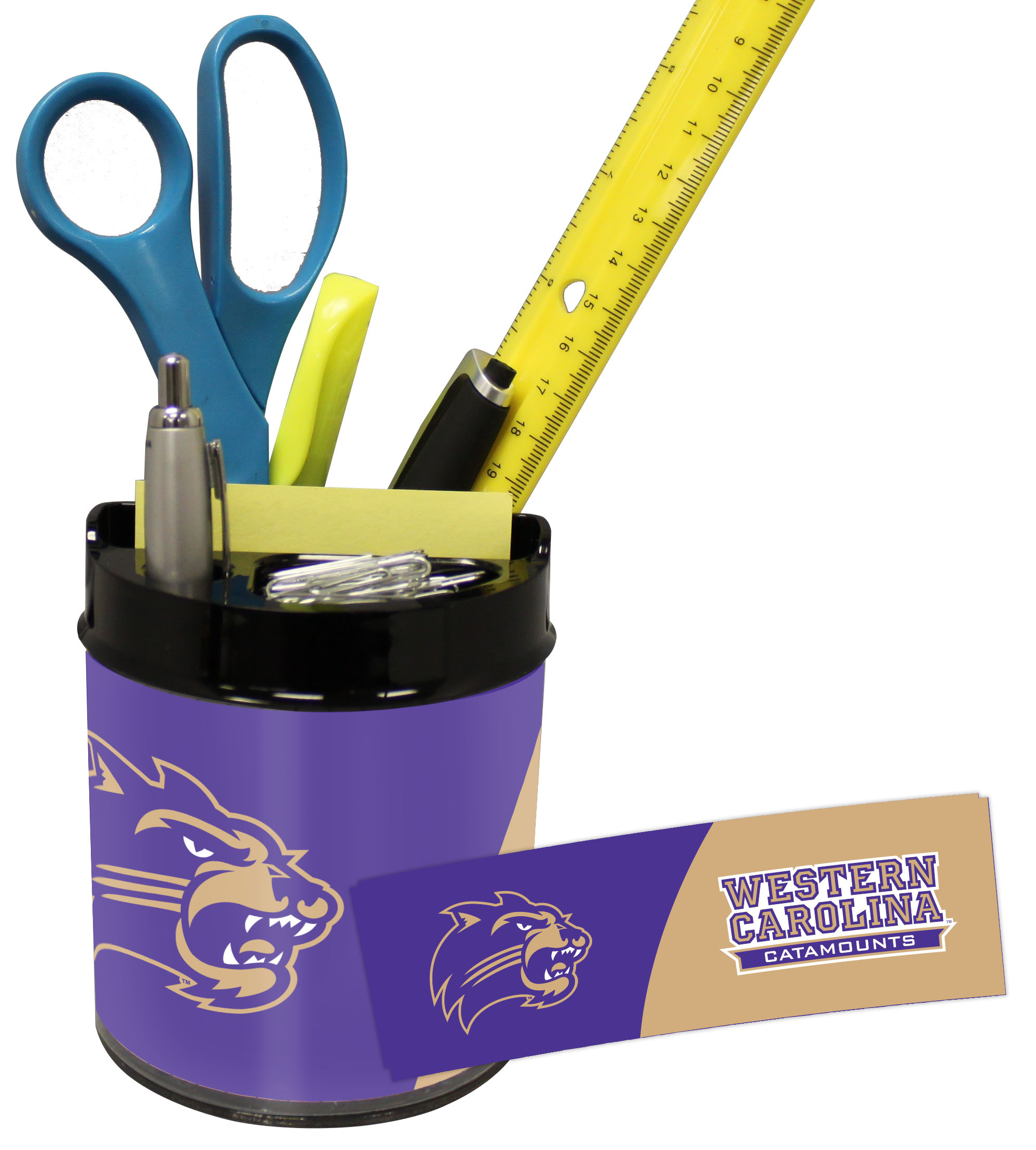 Western Carolina Catamounts Small Desk Caddy