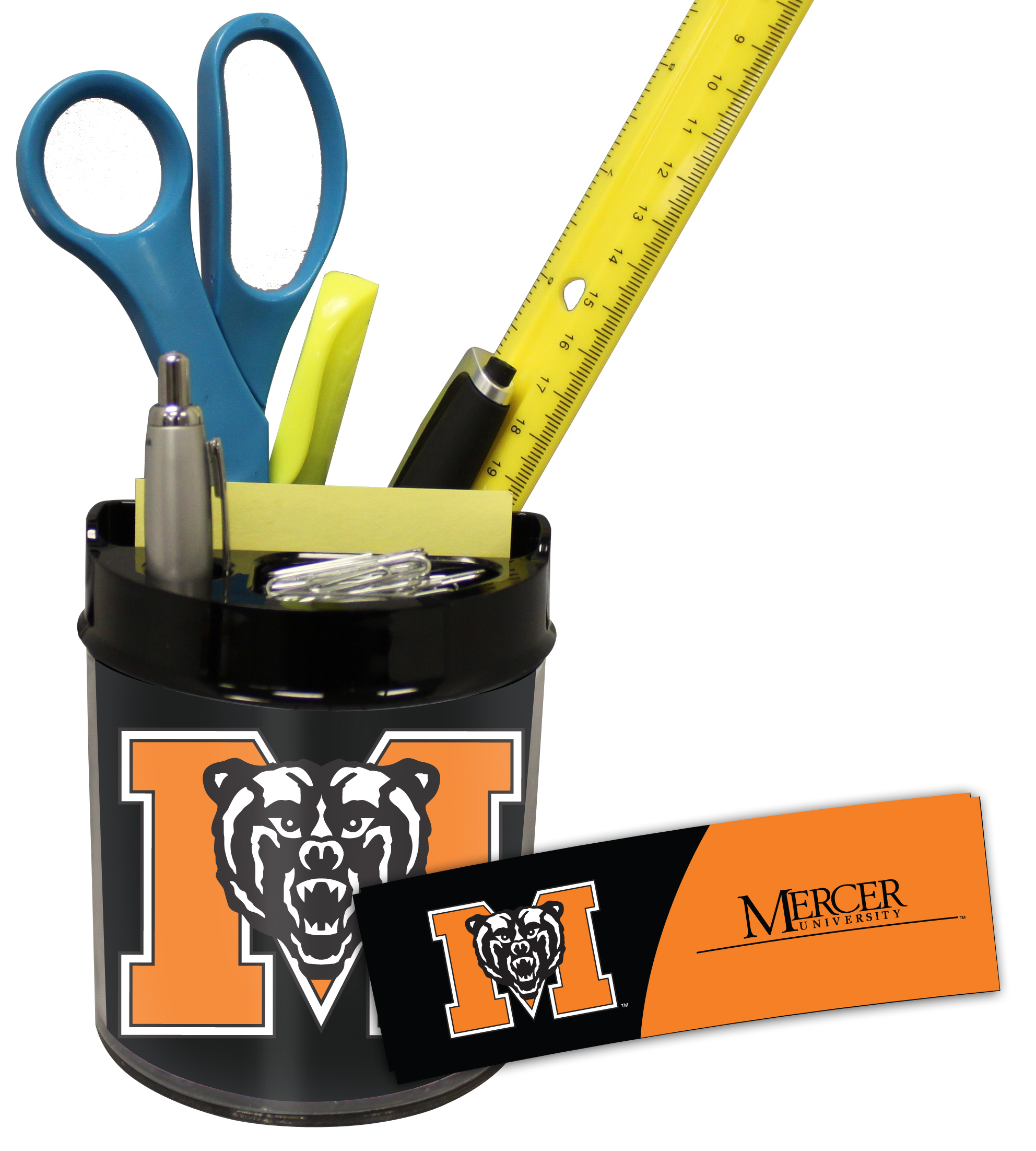 Mercer Bears Small Desk Caddy