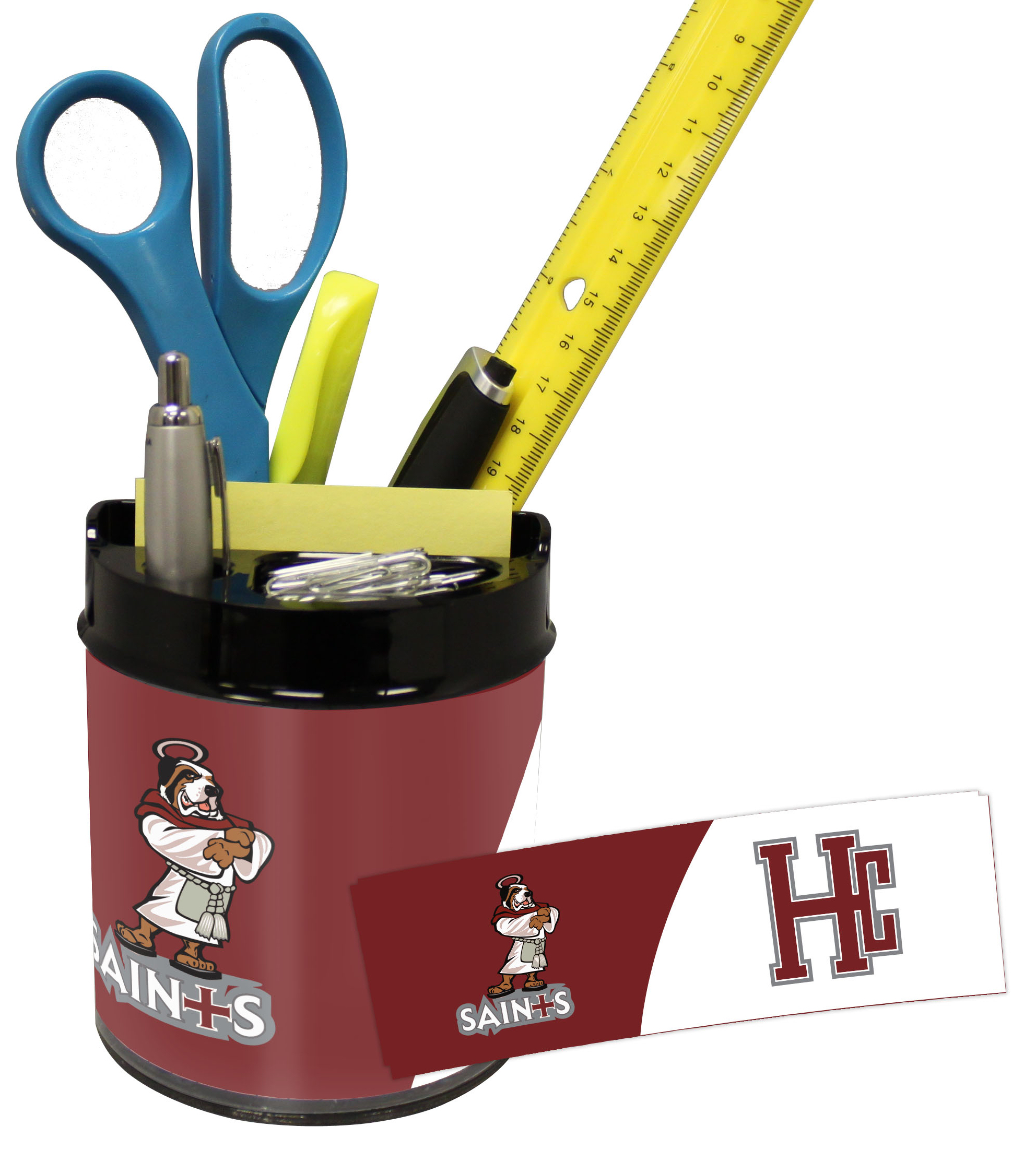 Holy Cross Crusaders Small Desk Caddy