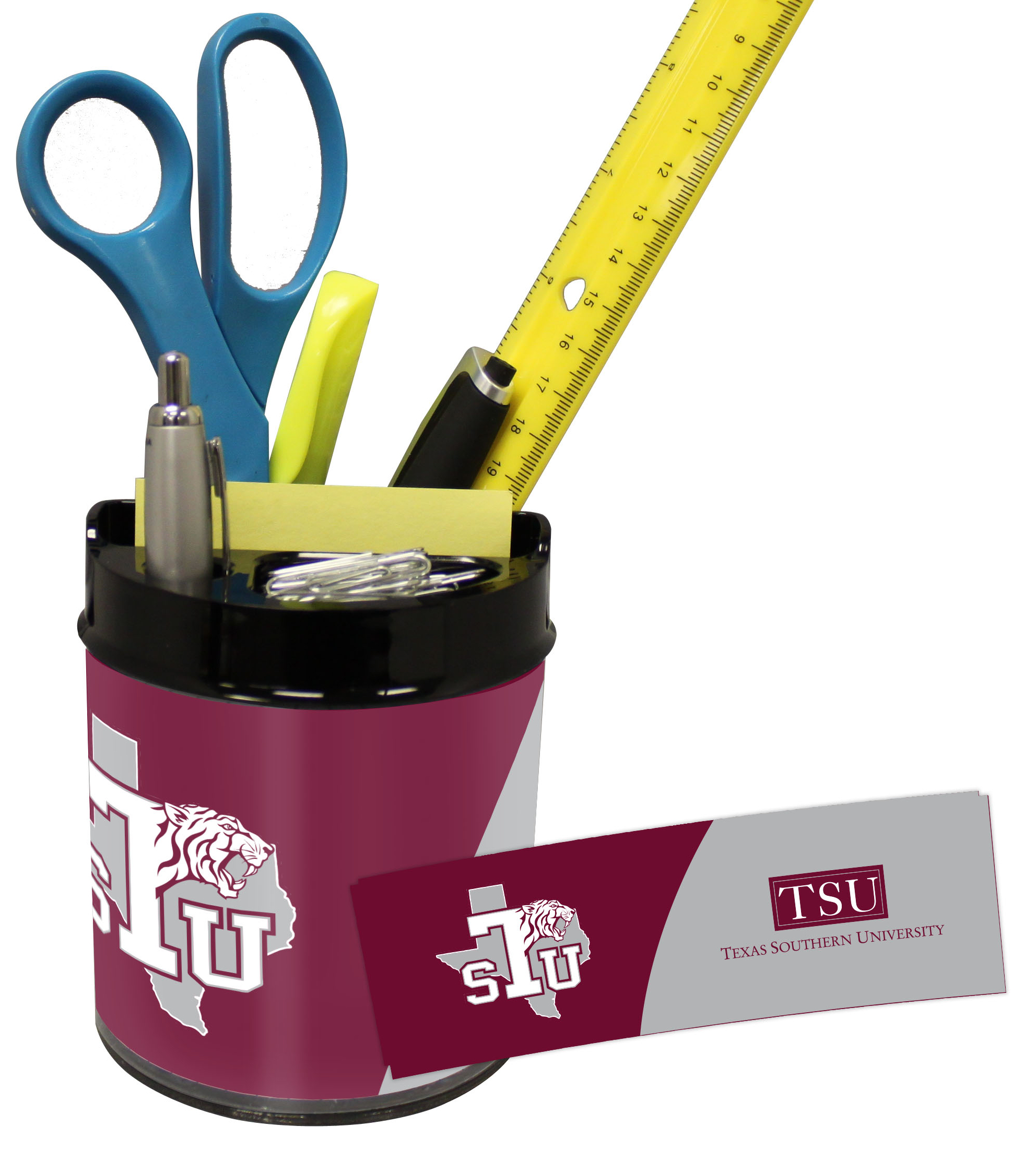Texas Southern Tigers Small Desk Caddy