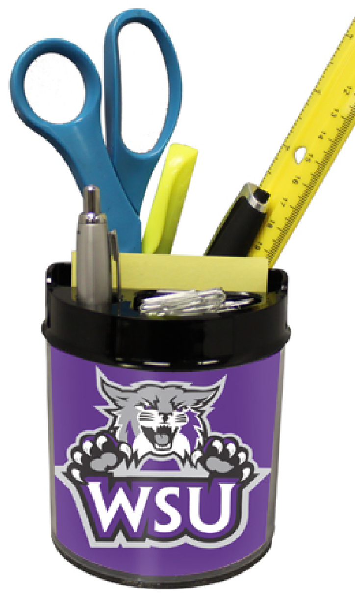 Weber State Wildcats Small Desk Caddy