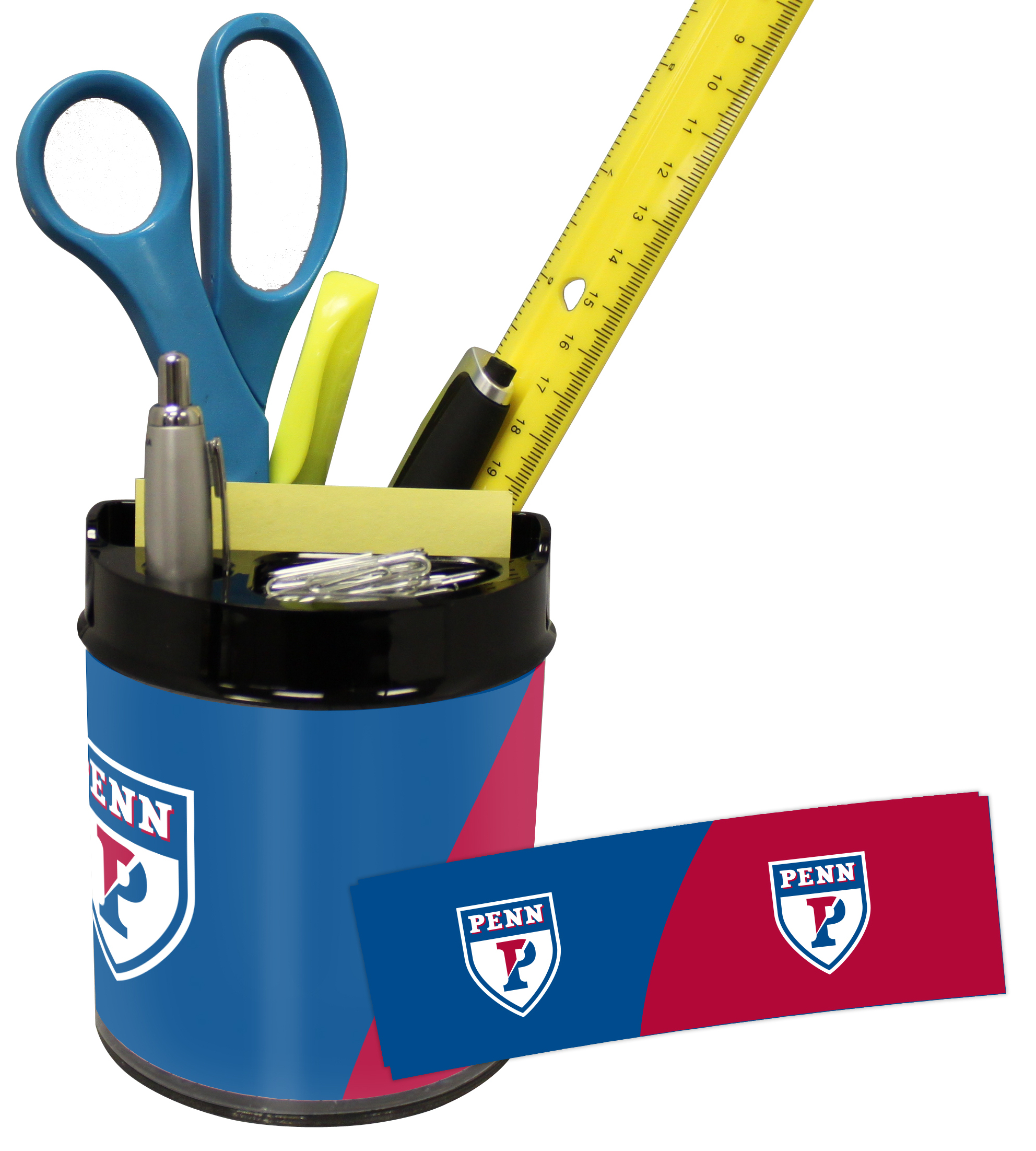 U of Penn Quakers Small Desk Caddy