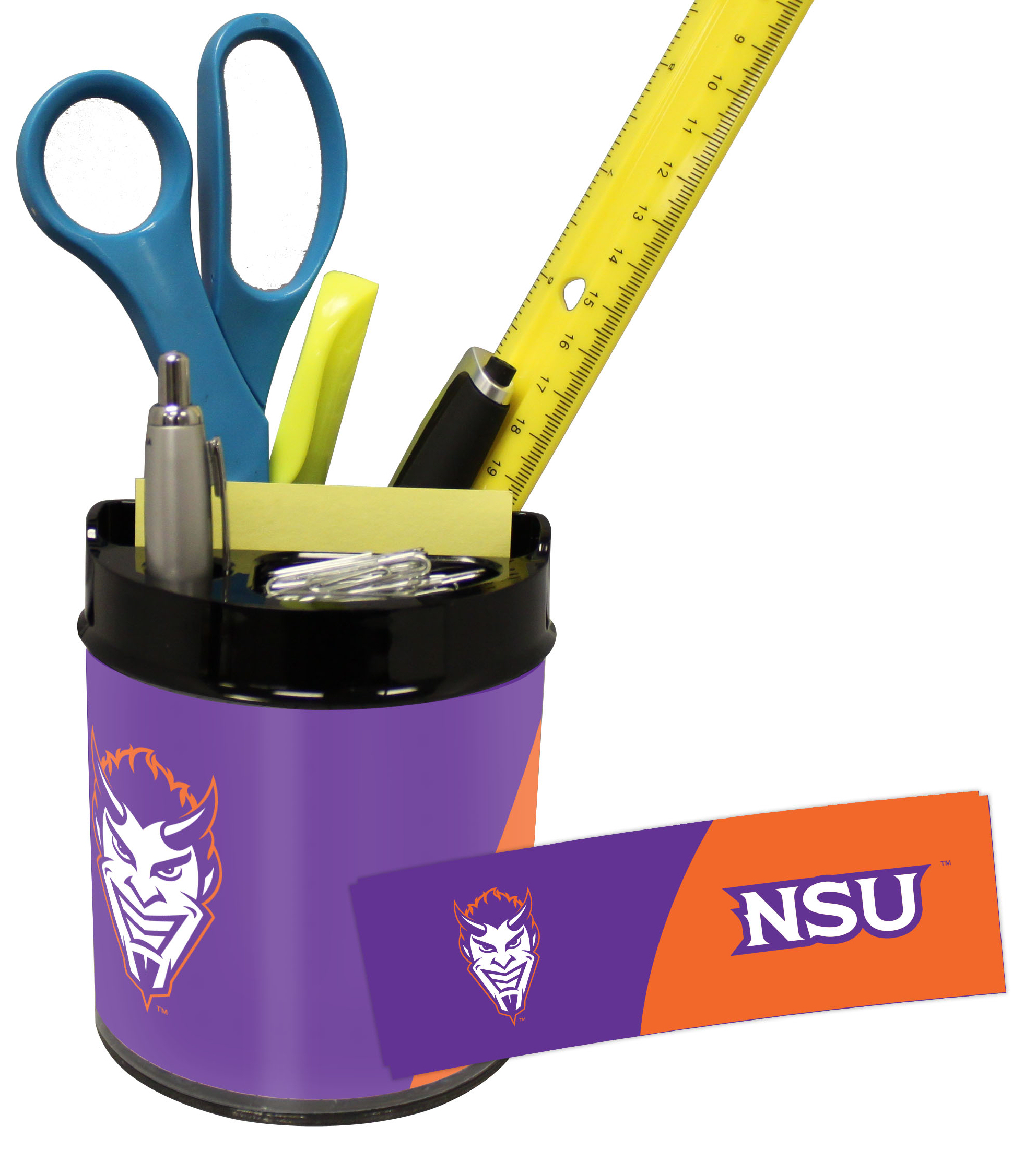 Northwestern State Demons Small Desk Caddy