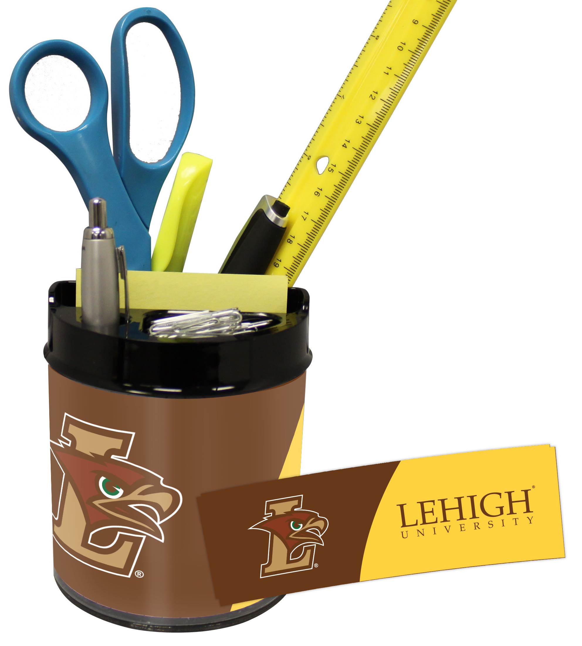 Lehigh Mountain Hawks Small Desk Caddy