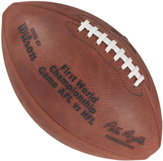 Super Bowl 1 Football Packers vs Chiefs
