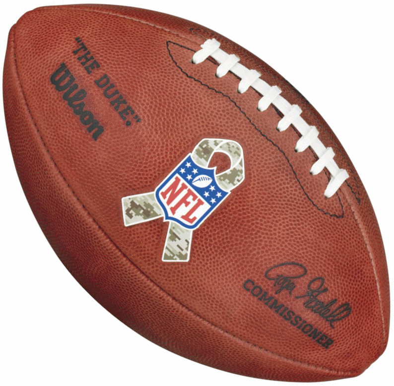 Wilson NFL Salute to Service Duke Official Football