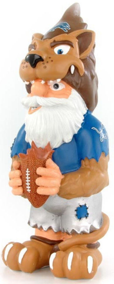 Detroit Lions Garden Gnome Thematic