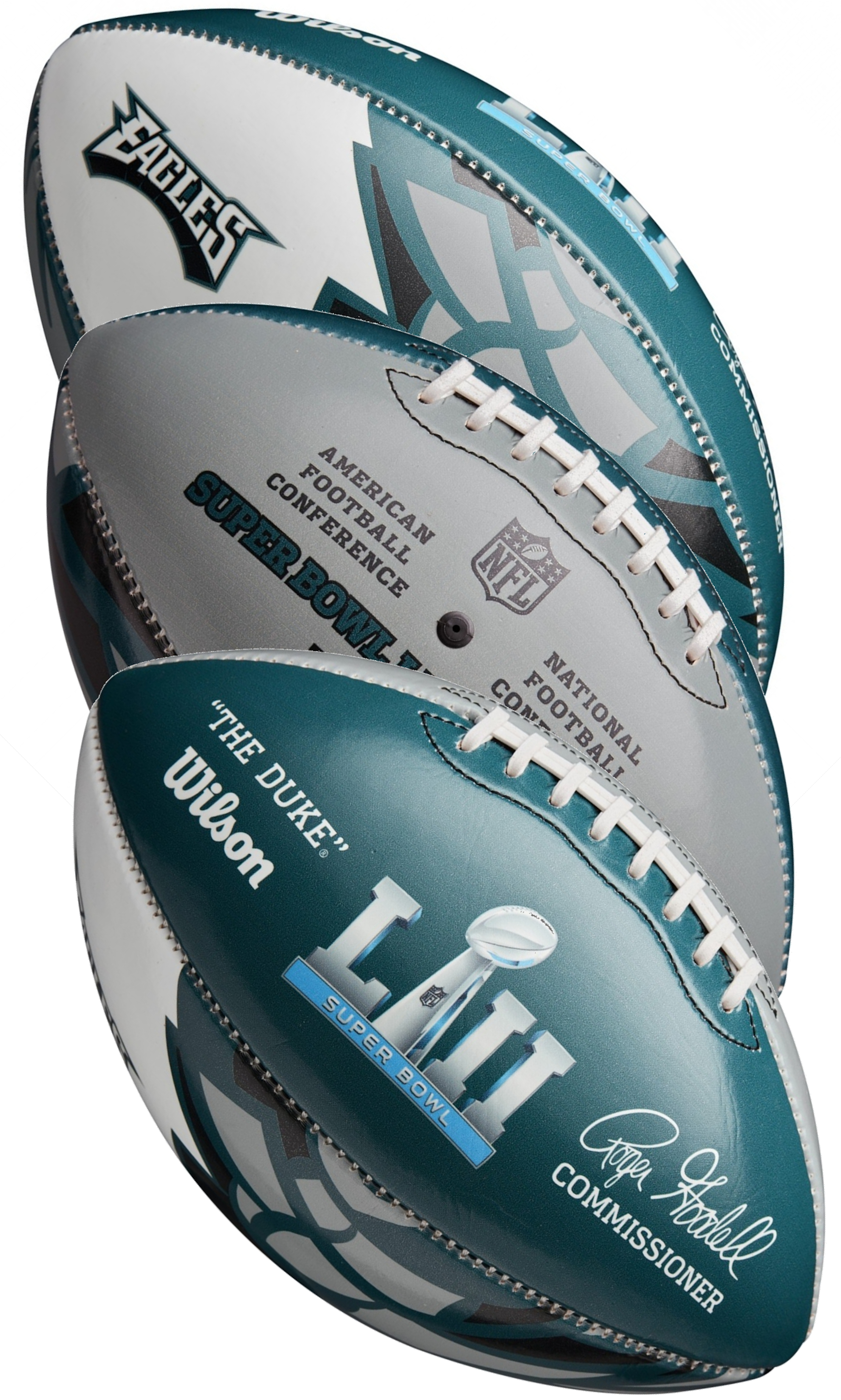 Philadelphia Eagles Super Bowl LII 52 FIT Championship Football <B>SALE!</B>
