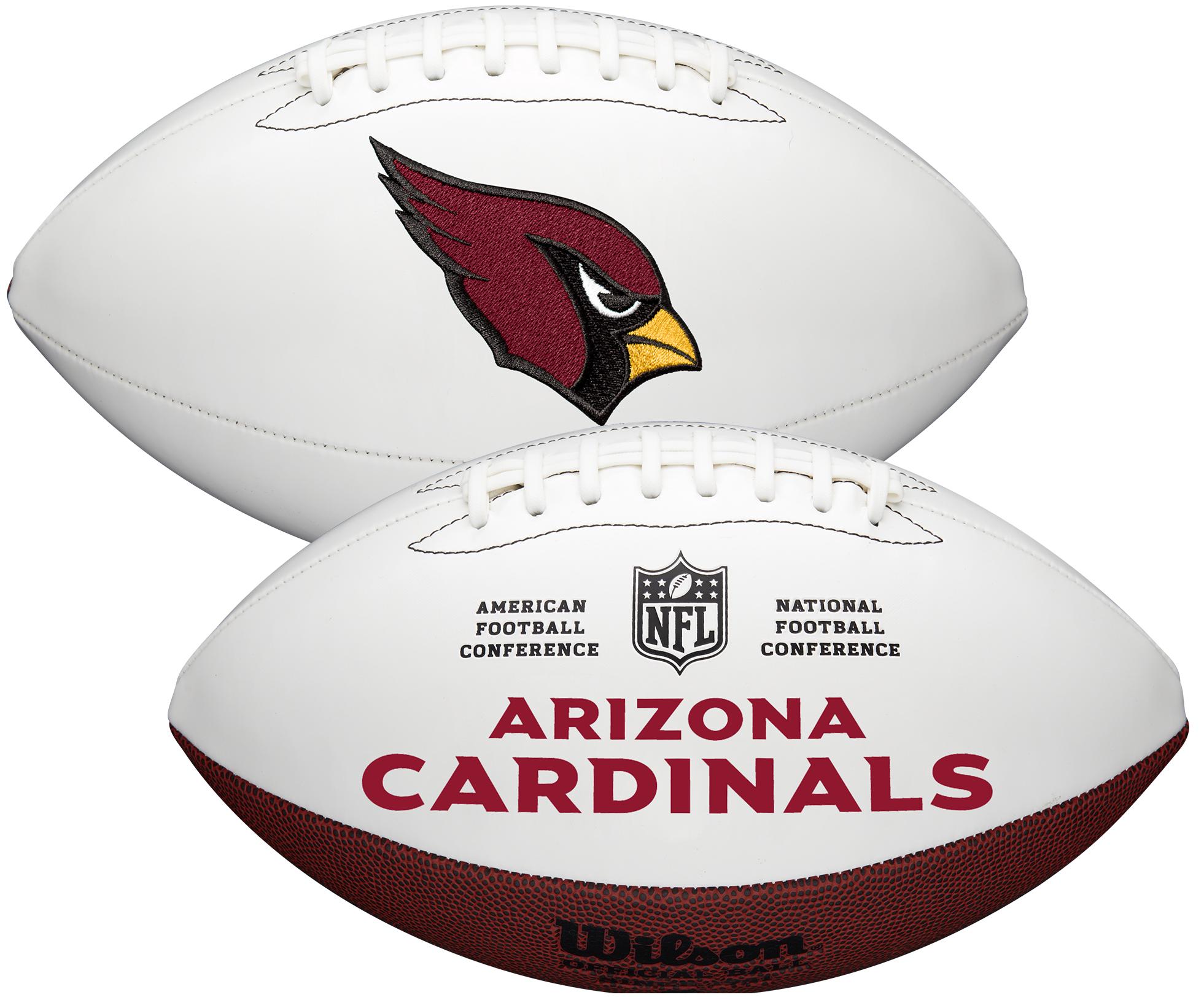 Wilson Arizona Cardinals Official NFL Autograph Series Football