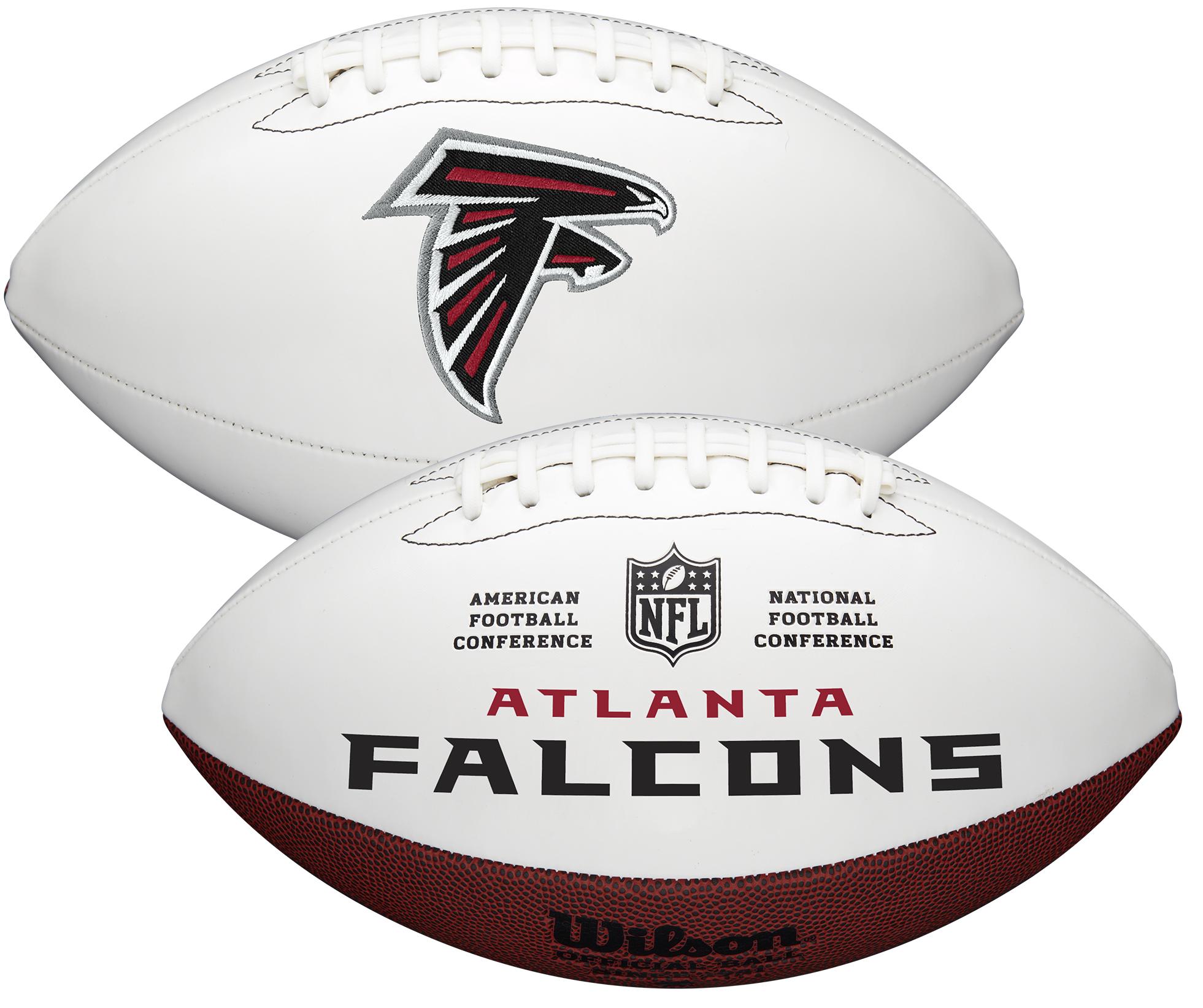 Wilson Atlanta Falcons Official NFL Autograph Series Football