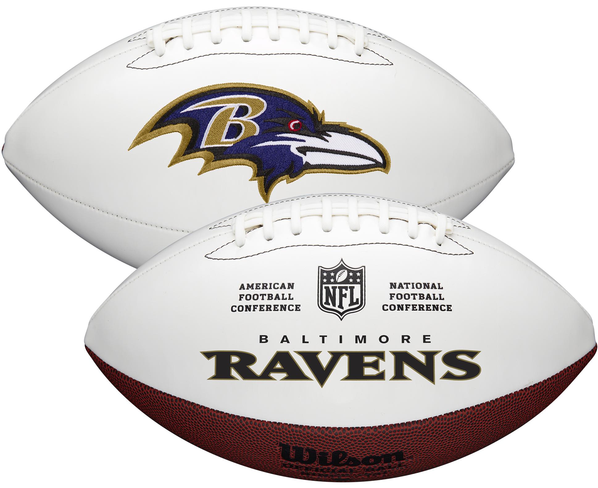 Wilson Baltimore Ravens Official NFL Autograph Series Football