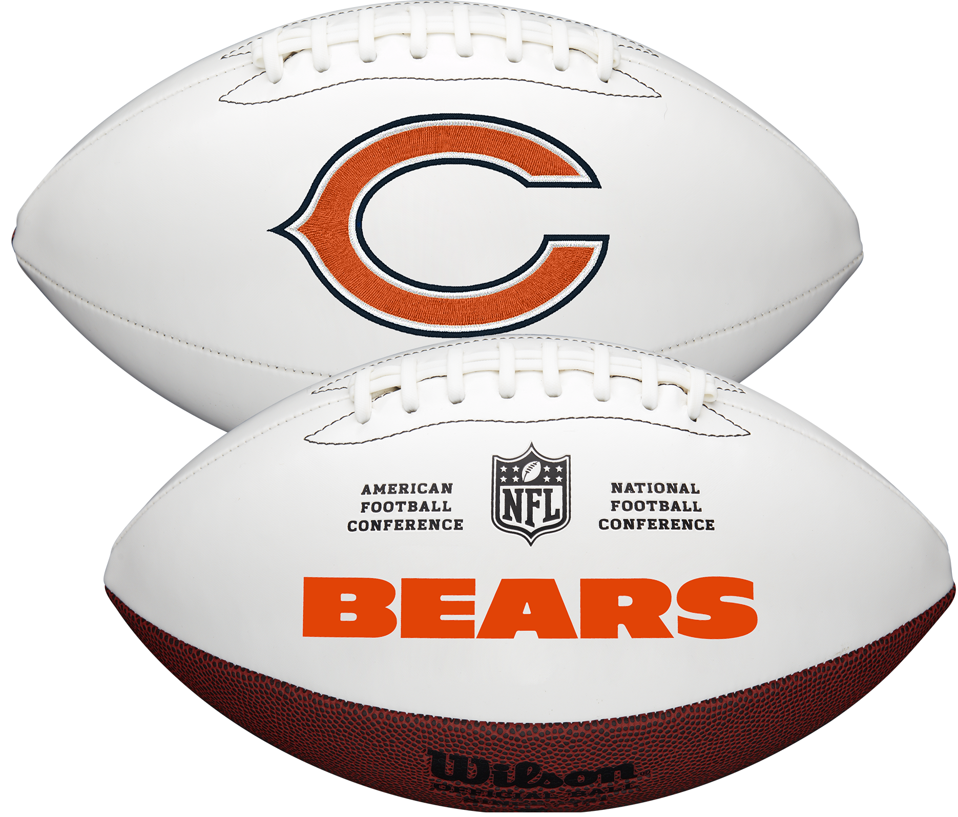 Wilson Chicago Bears Official NFL Autograph Series Football