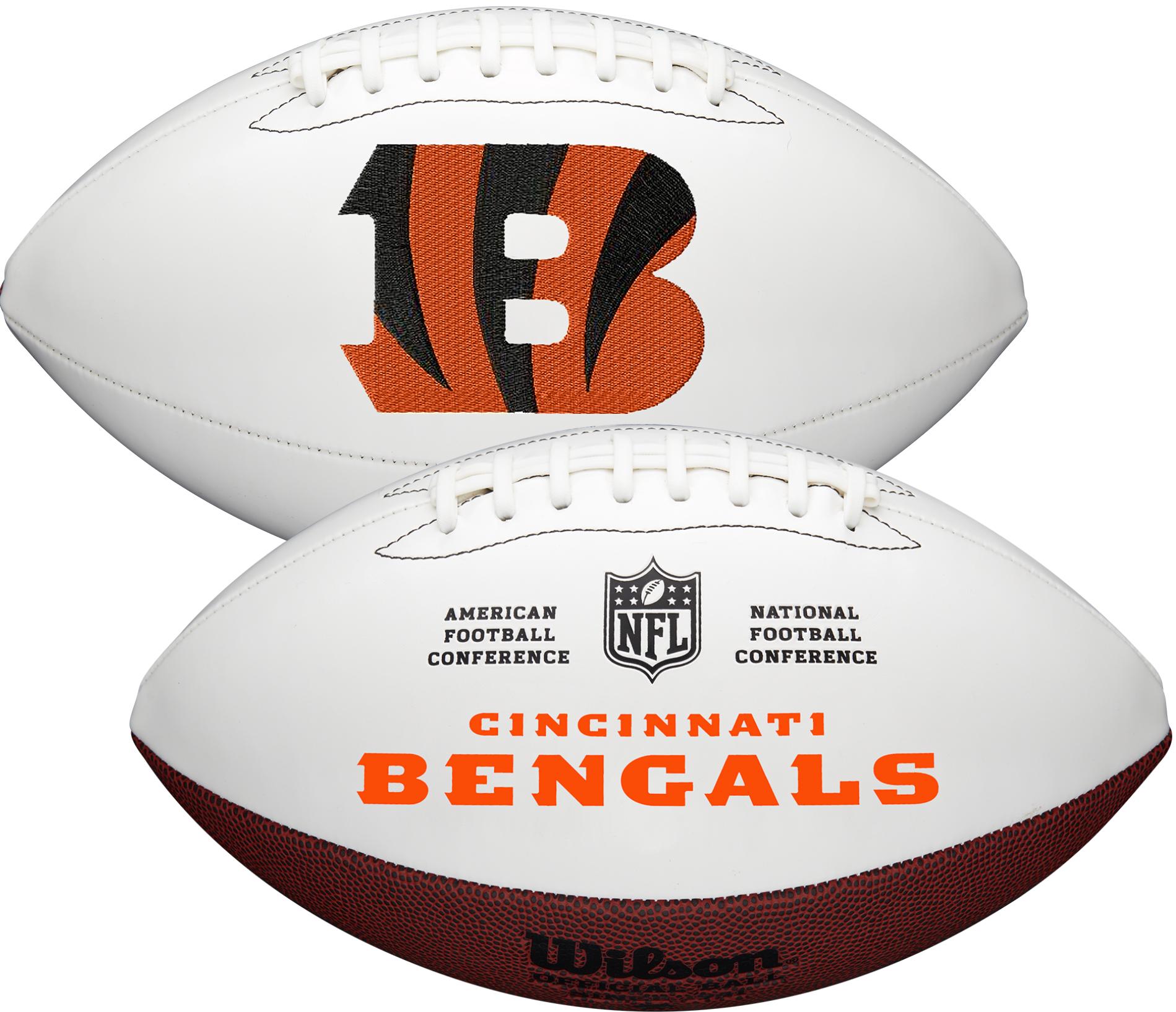 Wilson Cincinnati Bengals Official NFL Autograph Series Football