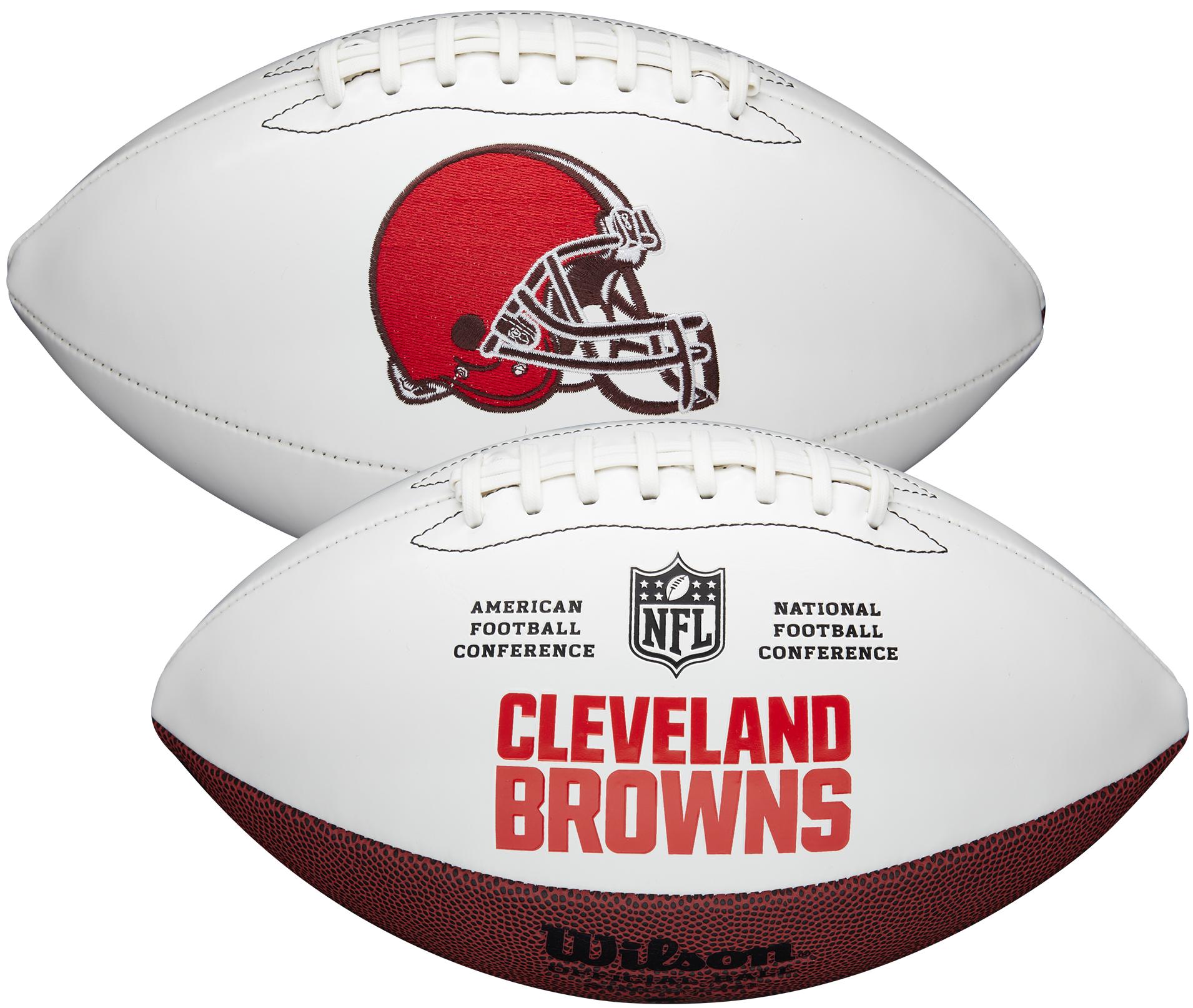 Wilson Cleveland Browns Official NFL Autograph Series Football