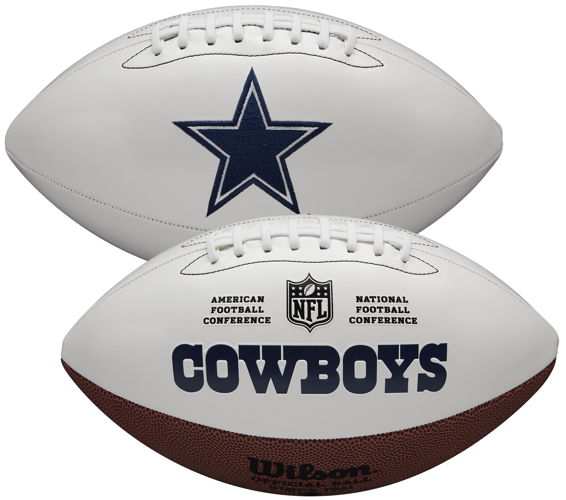 Wilson Dallas Cowboys Official NFL Autograph Series Football