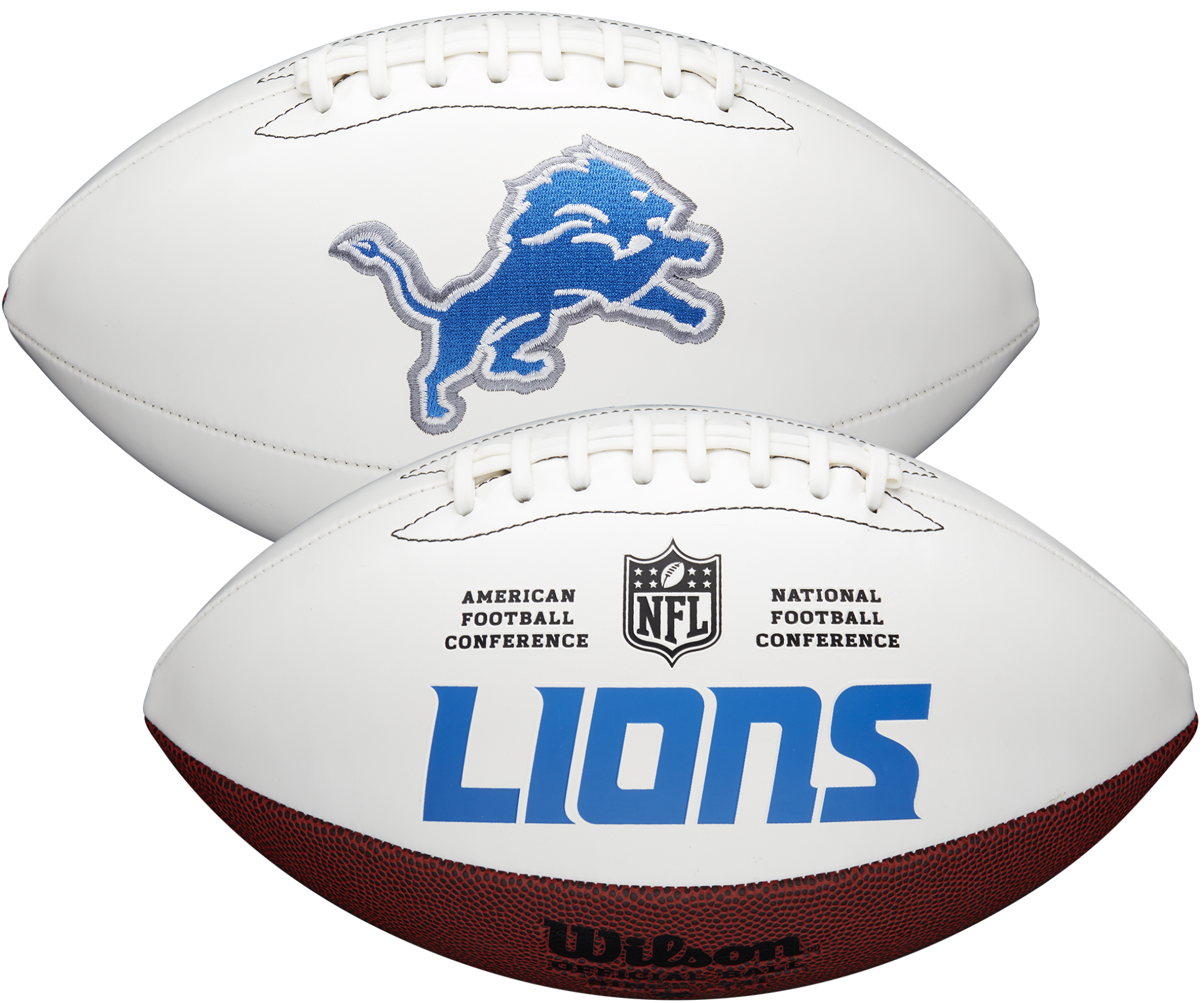 Wilson Detroit Lions Official NFL Autograph Series Football