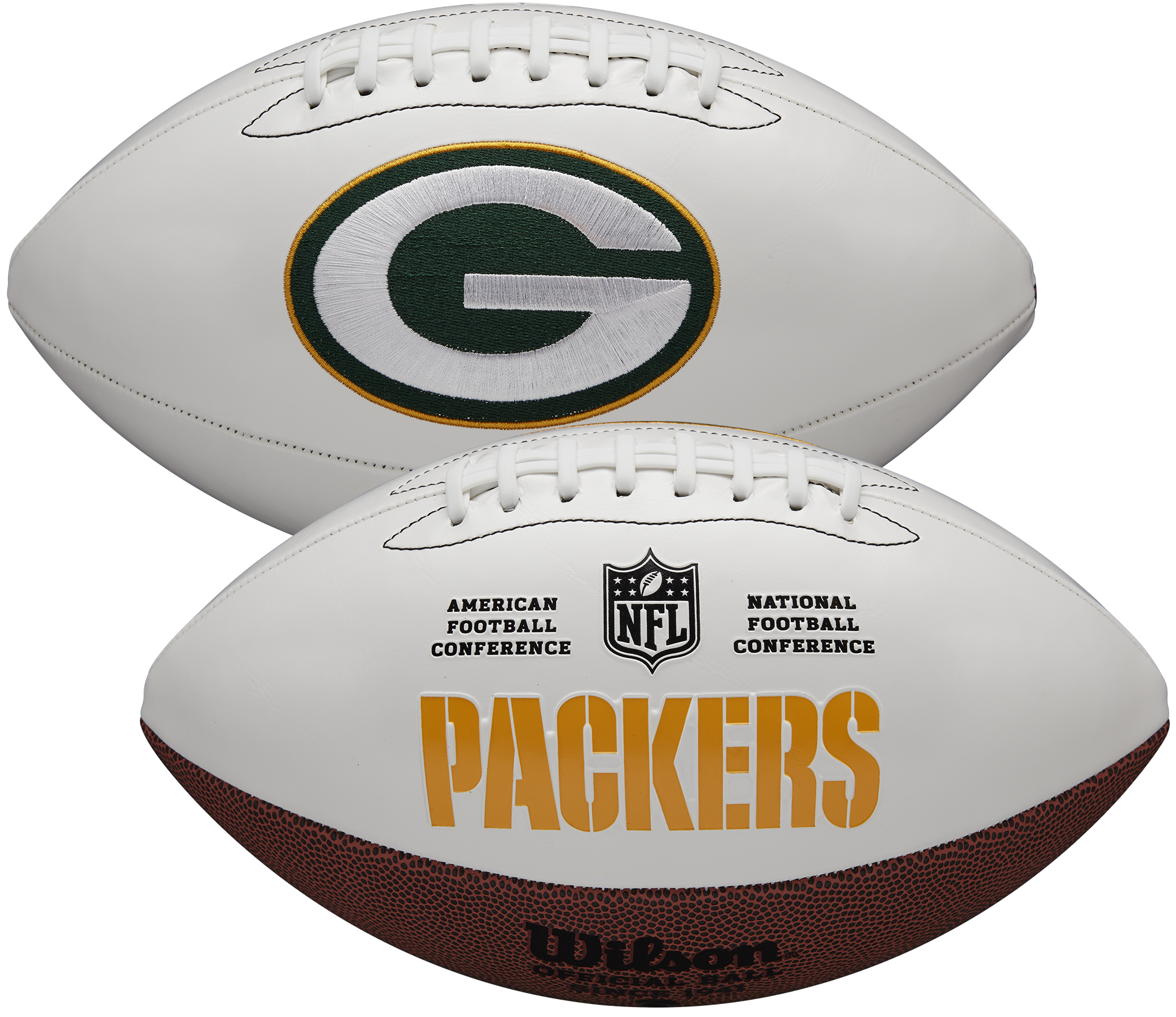 Wilson Green Bay Packers Official NFL Autograph Series Football