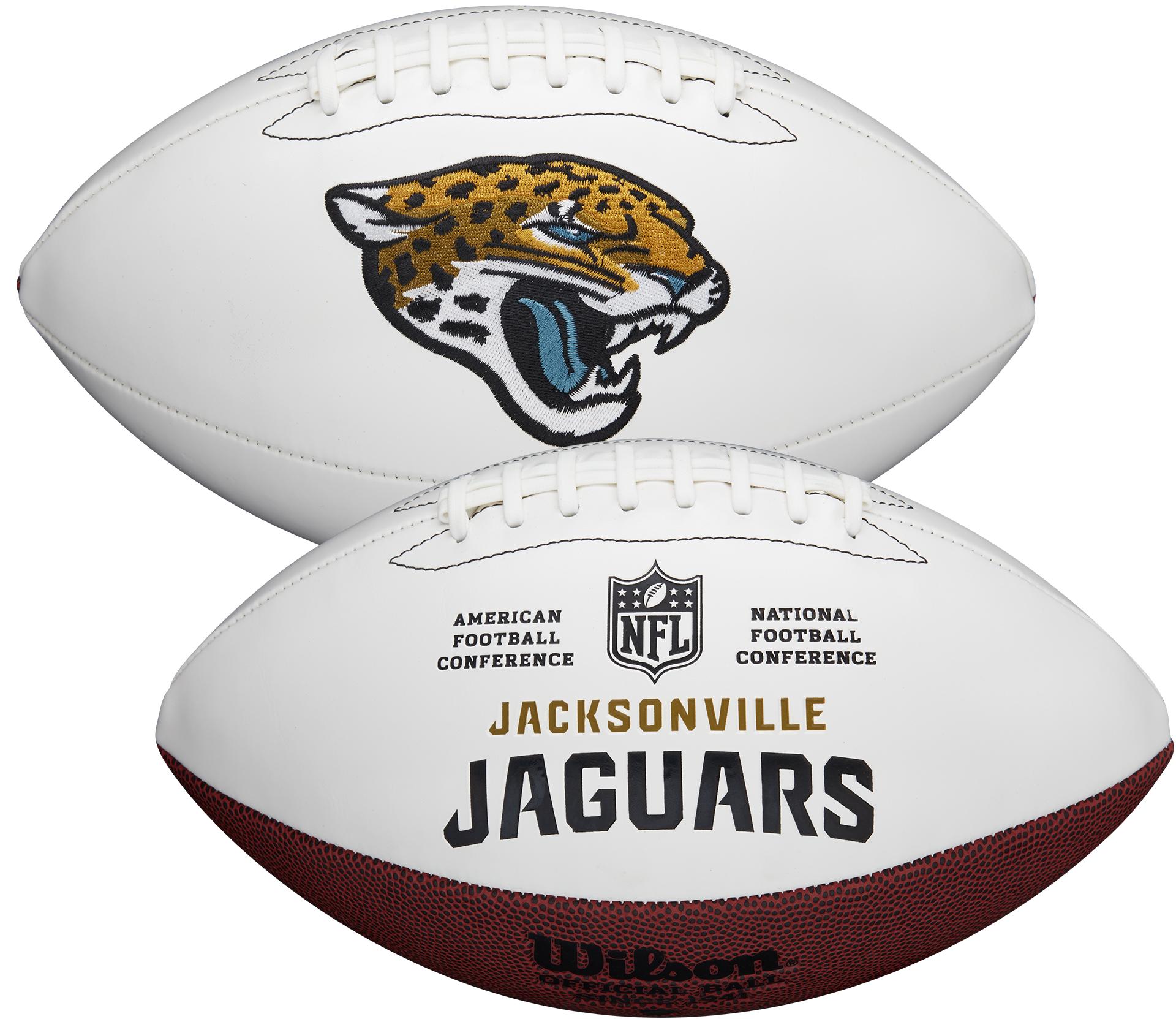 Wilson Jacksonville Jaguars Official NFL Autograph Series Football