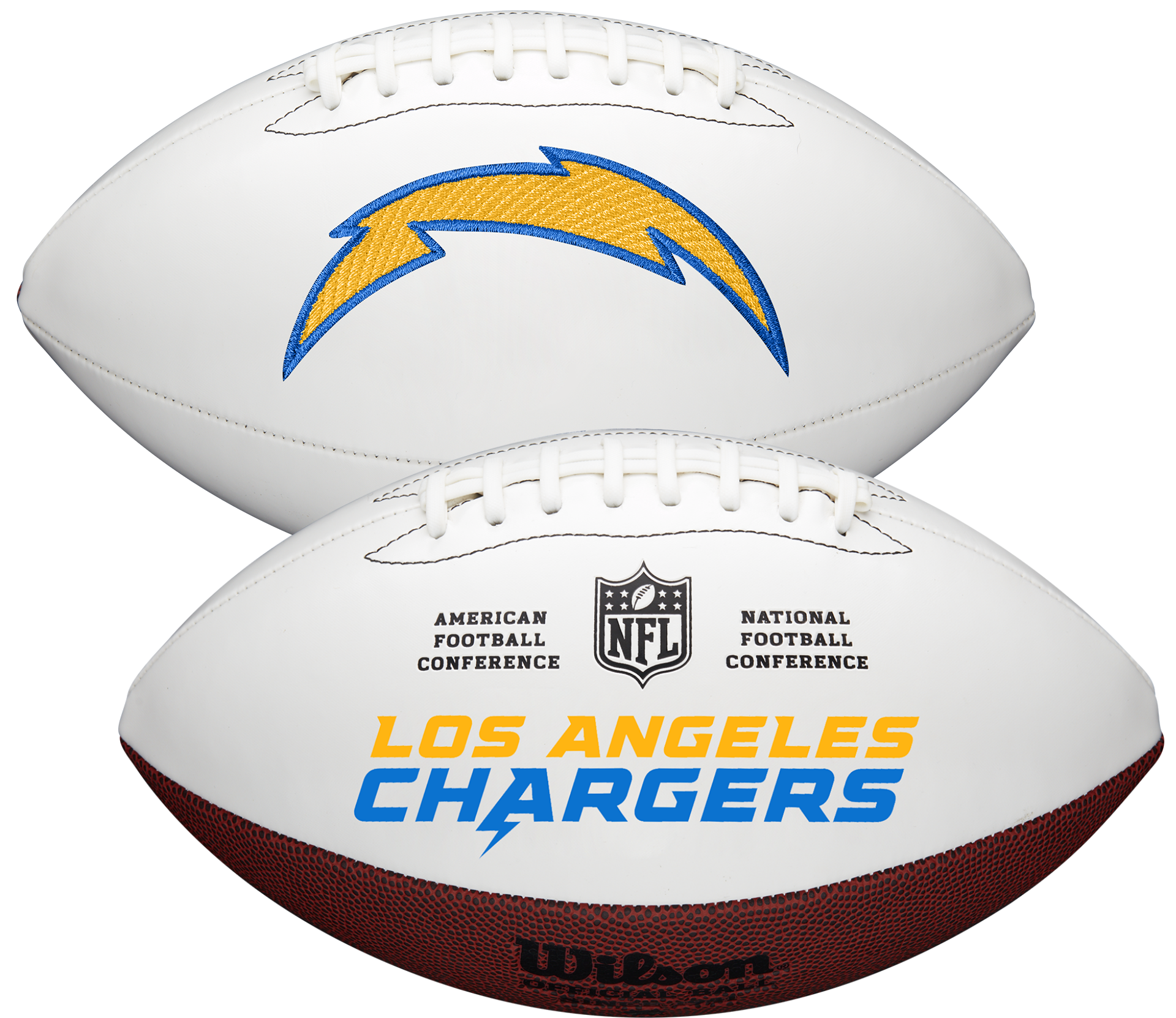 Wilson San Diego Chargers Official NFL Autograph Series Football