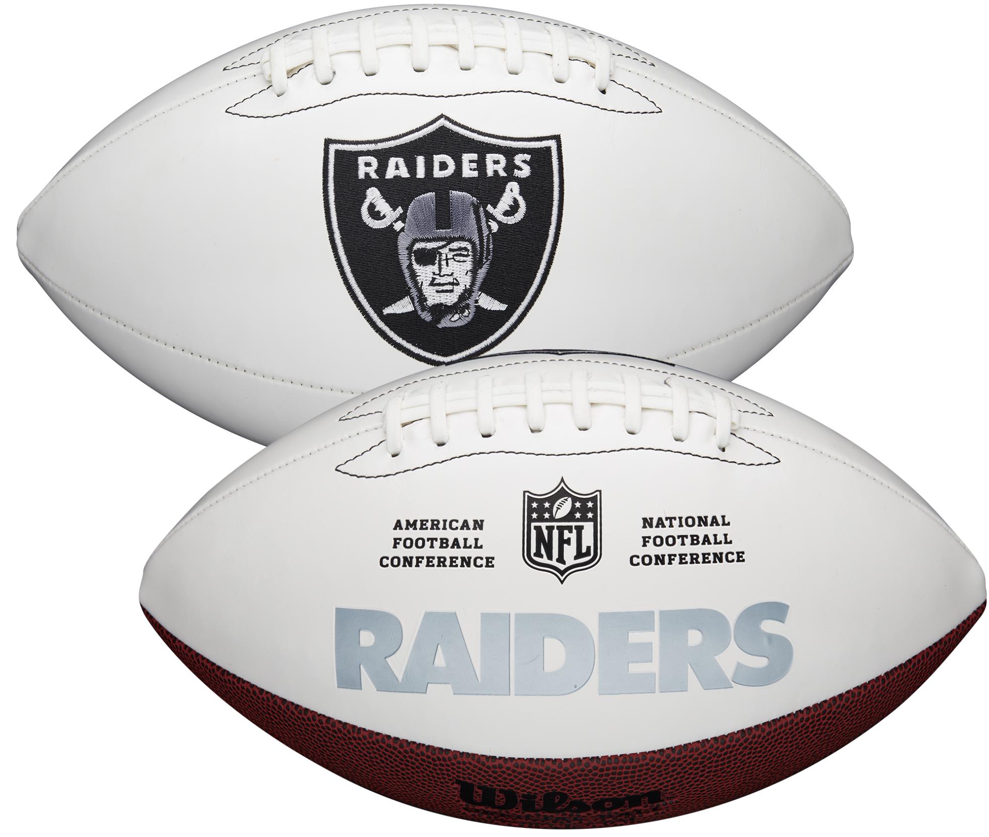 Wilson Las Vegas Raiders Official NFL Autograph Series Football