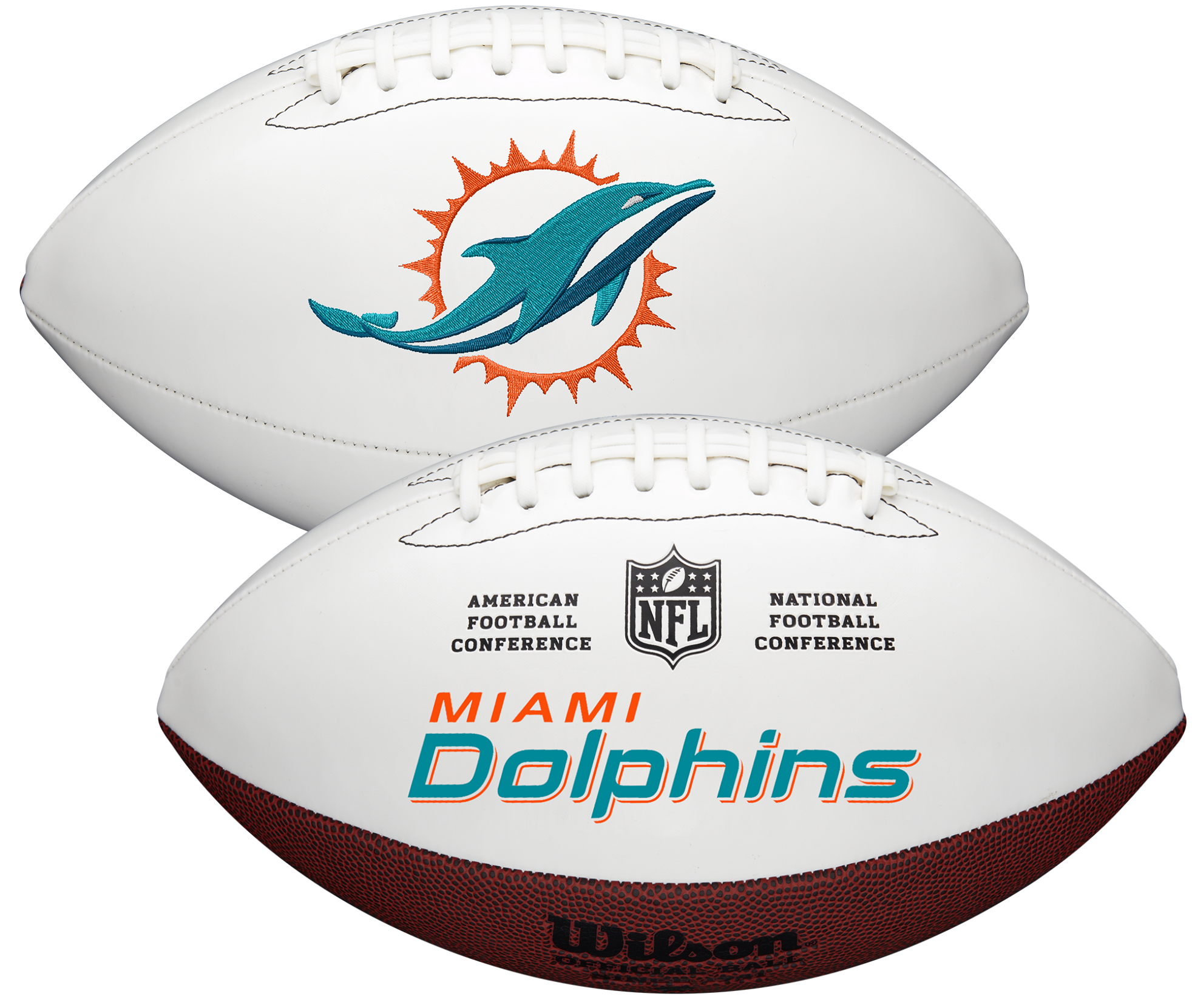 Wilson Miami Dolphins Official NFL Autograph Series Football