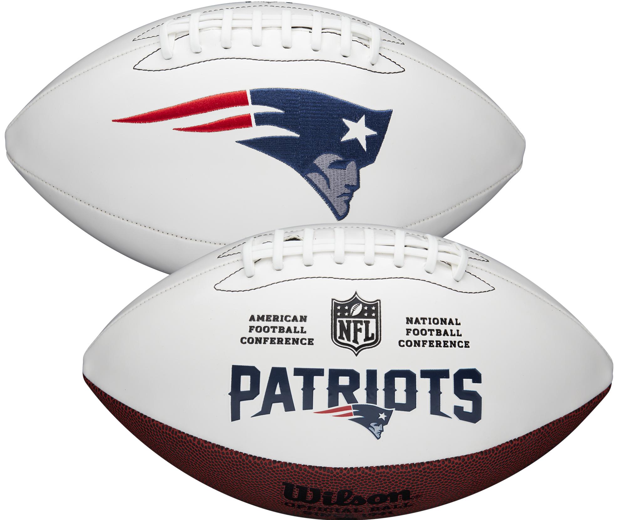 Wilson New England Patriots Official NFL Autograph Series Football