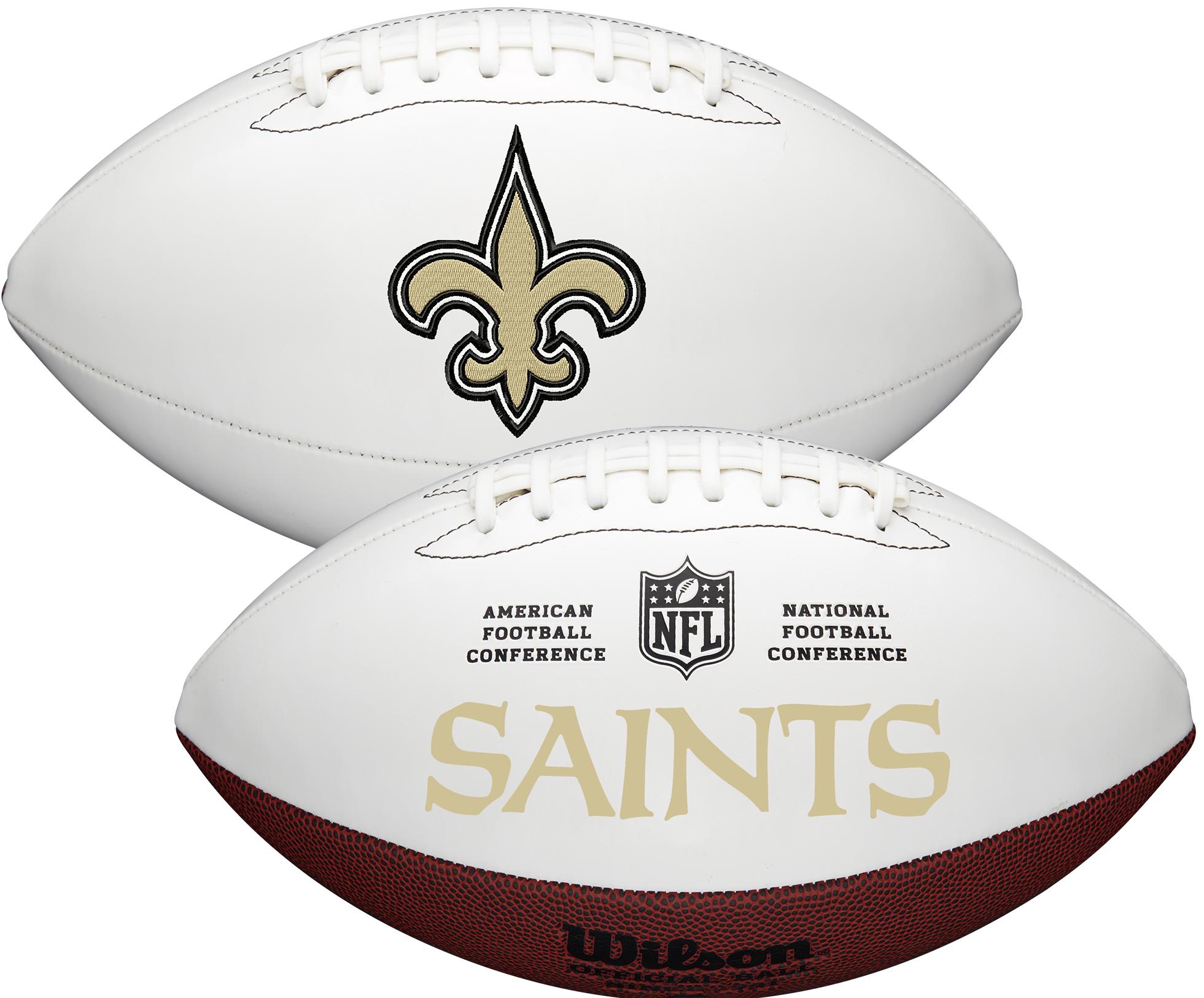 Wilson New Orleans Saints Official NFL Autograph Series Football