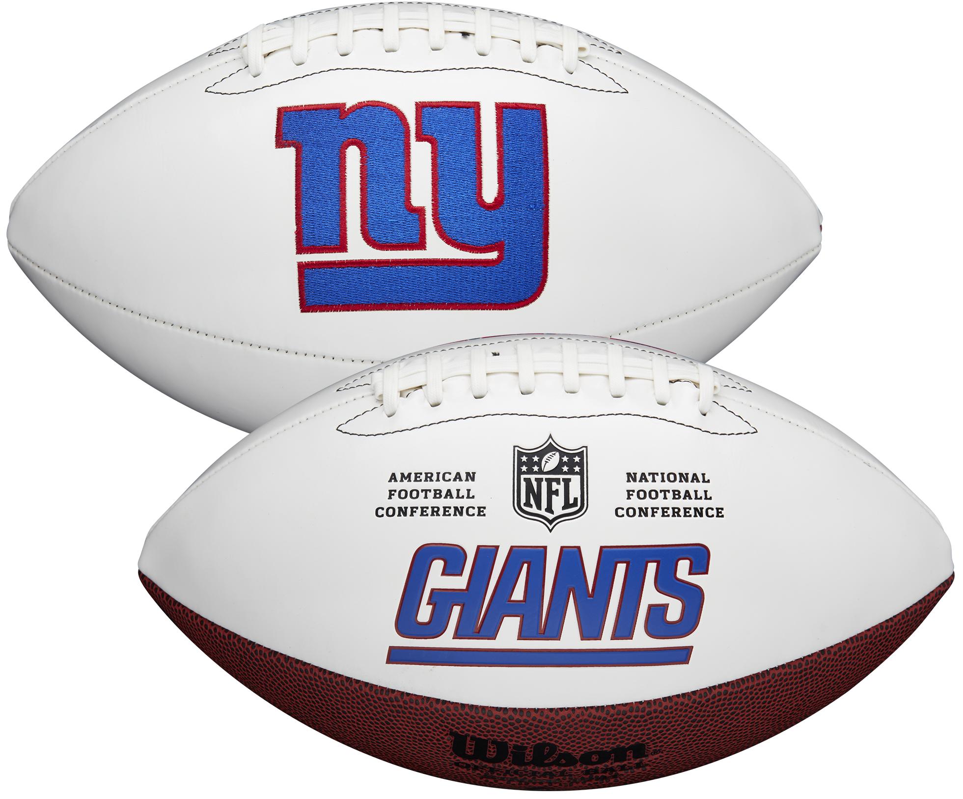 Wilson New York Giants Official NFL Autograph Series Football