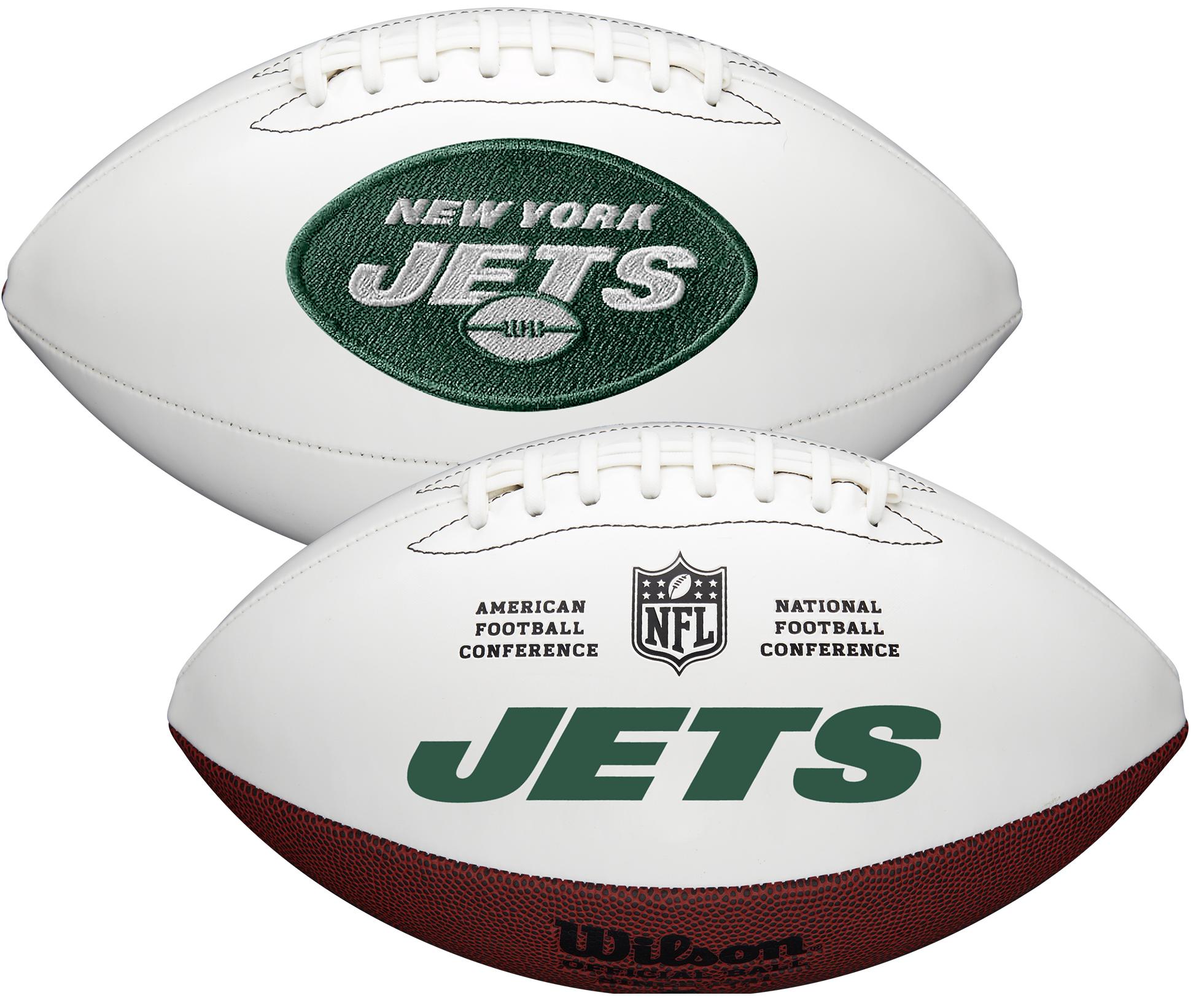 Wilson New York Jets Official NFL Autograph Series Football