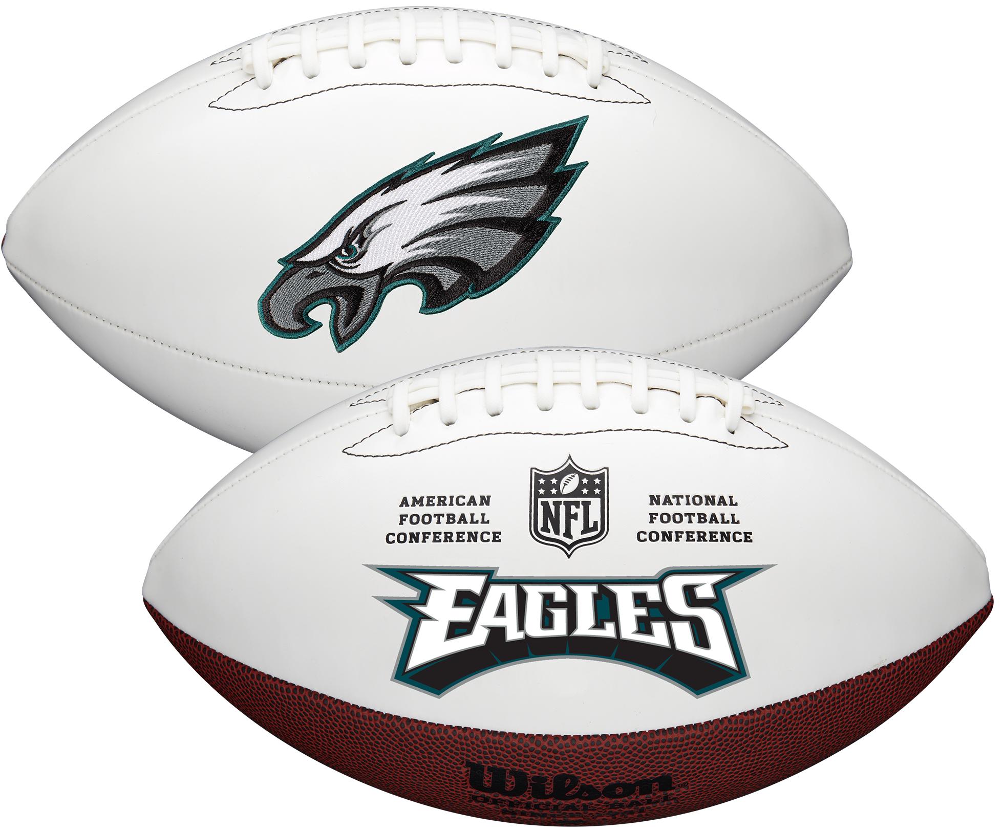 Wilson Philadelphia Eagles Official NFL Autograph Series Football
