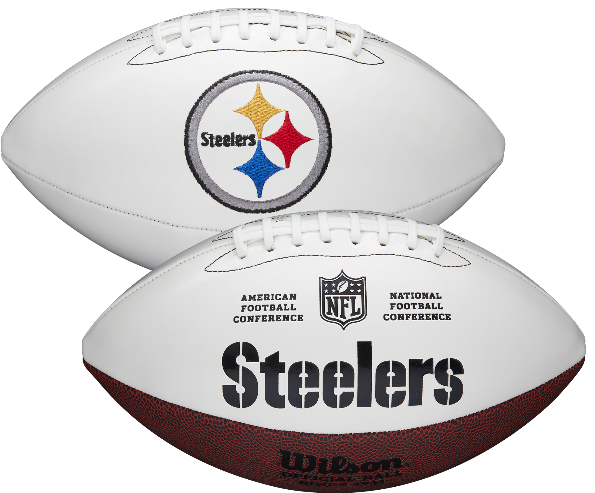 Wilson Pittsburgh Steelers Official NFL Autograph Series Football