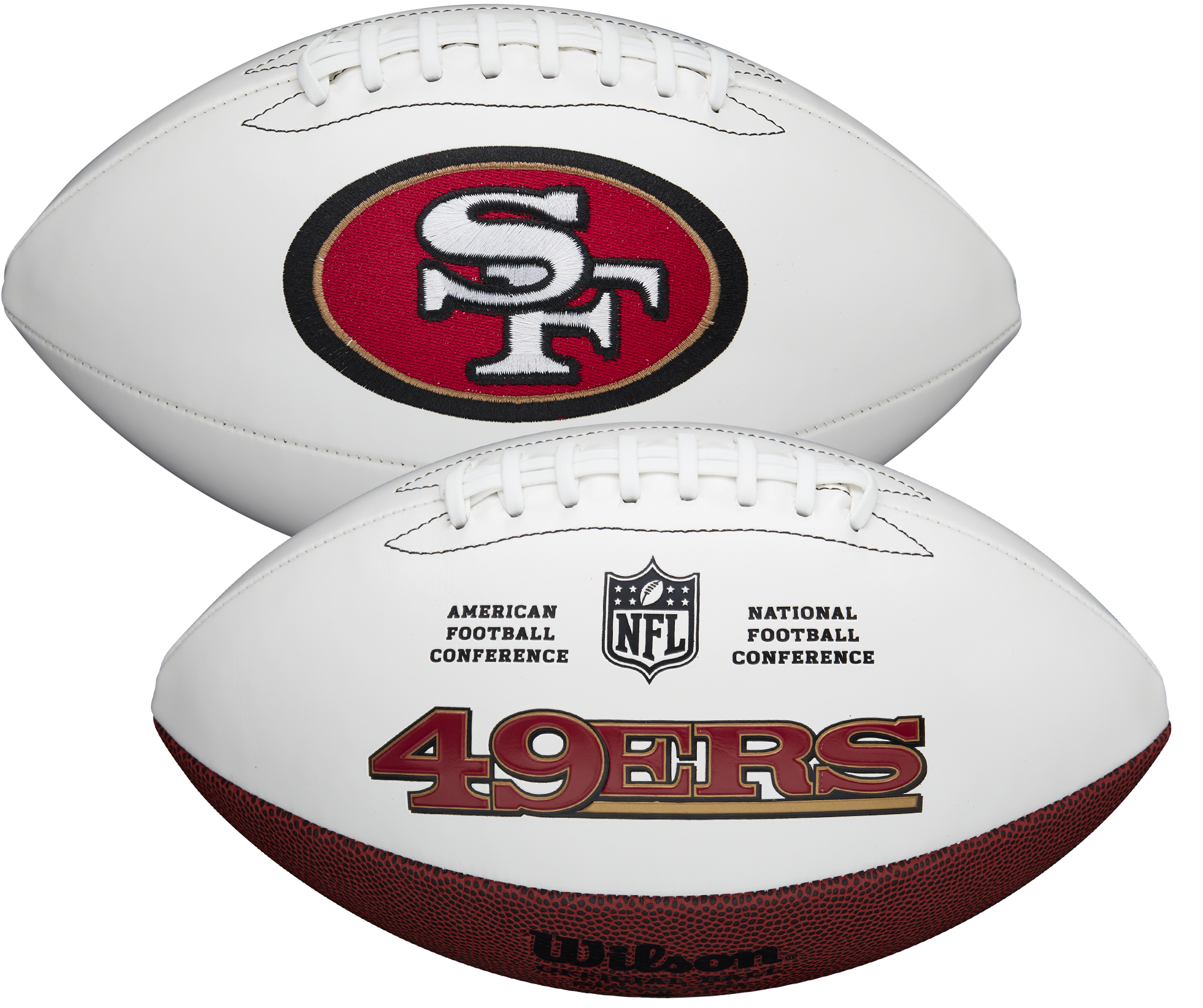 Wilson San Francisco 49ers Official NFL Autograph Series Football