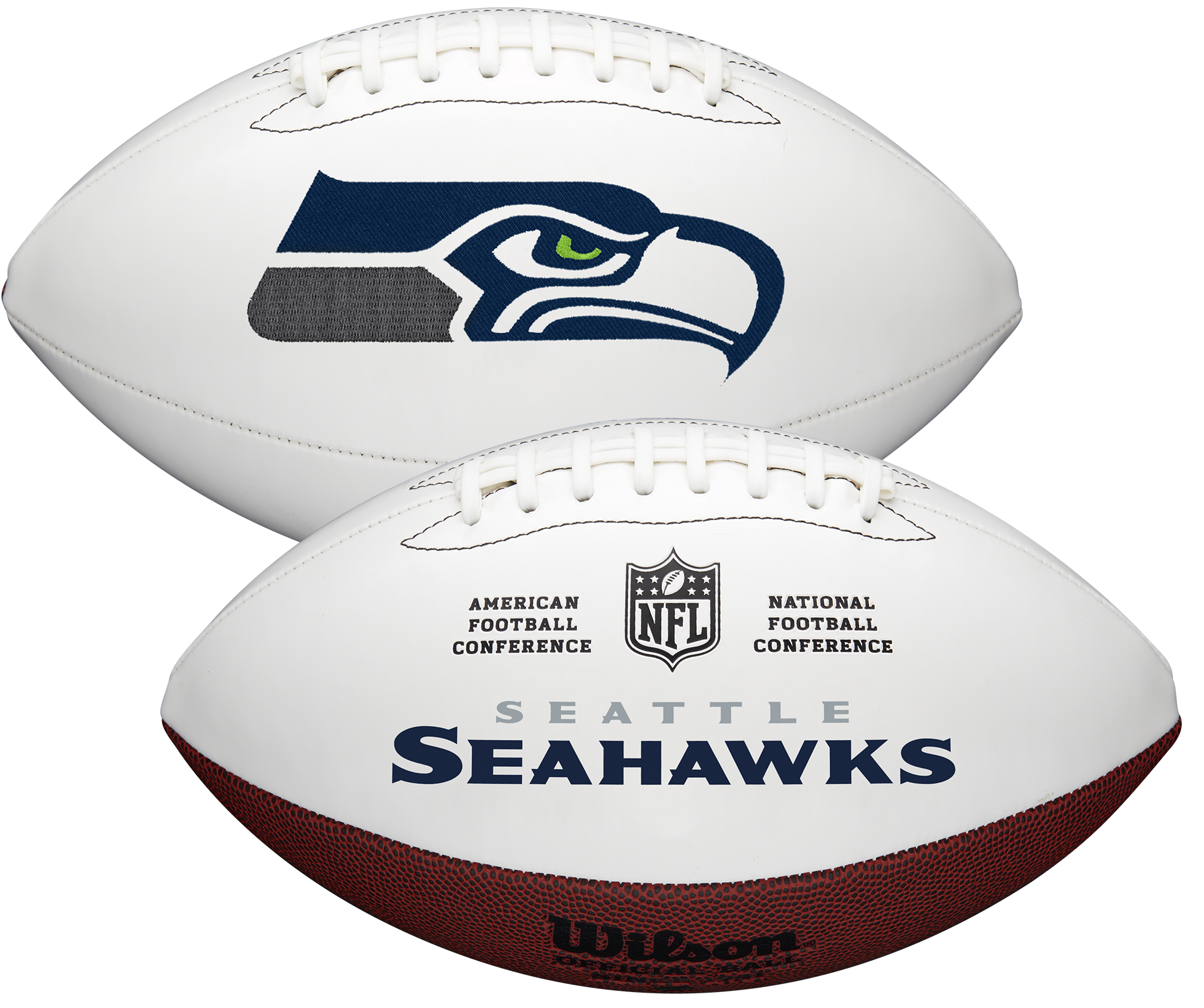 Wilson Seattle Seahawks Official NFL Autograph Series Football