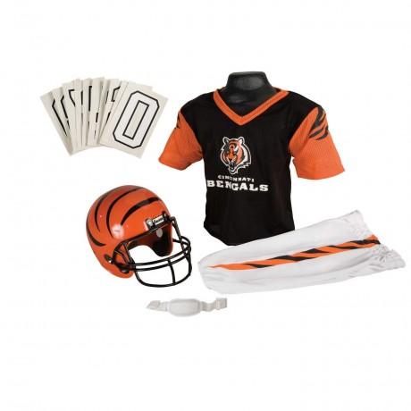 Cincinnati Bengals NFL Youth Uniform Set - Cincinnati Bengals Uniform Medium (ages 7-10)