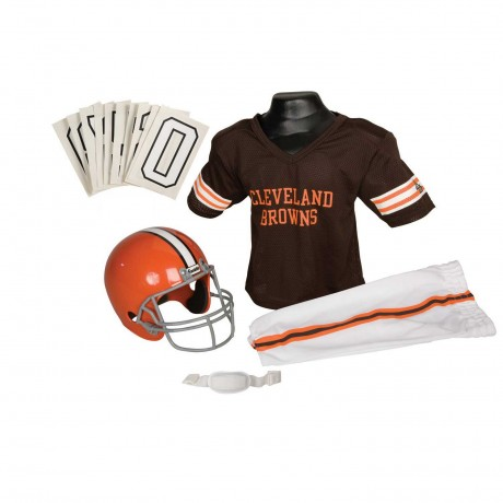 Cleveland Browns NFL Youth Uniform Set - Cleveland Browns Uniform Small (ages 4-6)