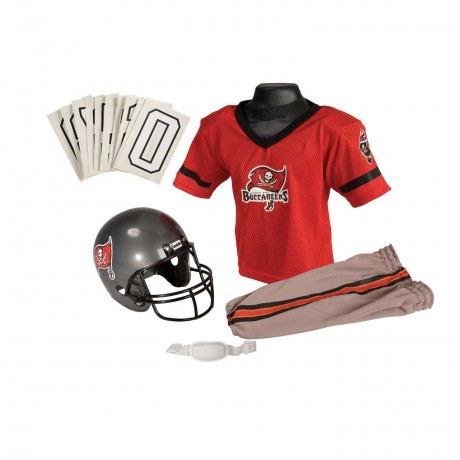 Tampa Bay Buccaneers NFL Youth Uniform Set - Tampa Bay Buccaneers Uniform Small (ages 4-6)