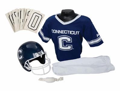 Connecticut Huskies NCAA Youth Uniform Set - Connecticut Huskies Uniform Medium (ages 7-10)