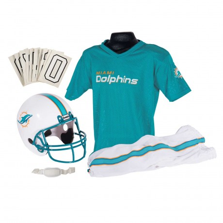 Miami Dolphins NFL Youth Uniform Set - Miami Dolphins Uniform Small (ages 4-6)