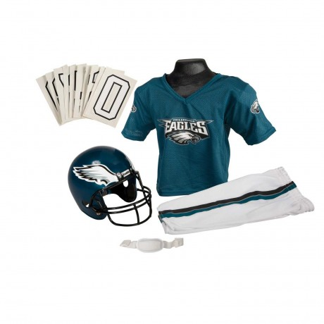 Philadelphia Eagles NFL Youth Uniform Set - Philadelphia Eagles Uniform Small (ages 4-6)