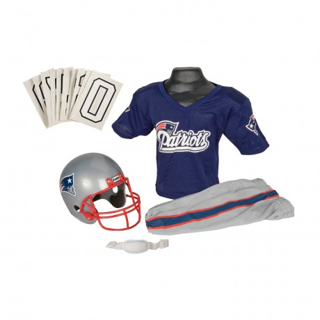New England Patriots NFL Youth Uniform Set - New England Patriots Uniform Small (ages 4-6)