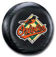 Baltimore Orioles Tire Cover <B>BLOWOUT SALE</B>
