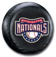 Washington Nationals Tire Cover